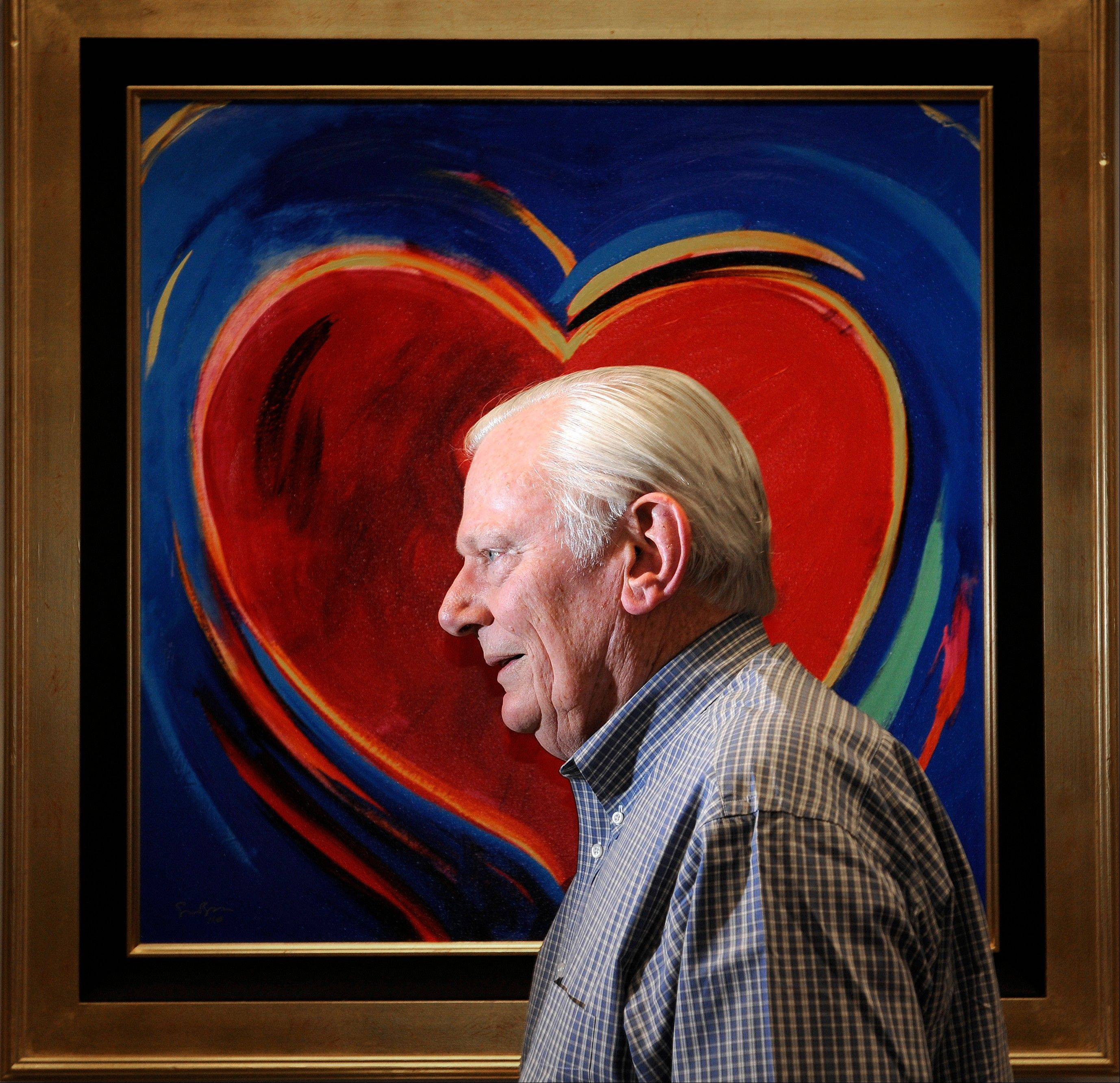 Herb Kelleher, co-founder, Chairman Emeritus and former CEO of Southwest Airlines, poses for a portrait in his office in Dallas.