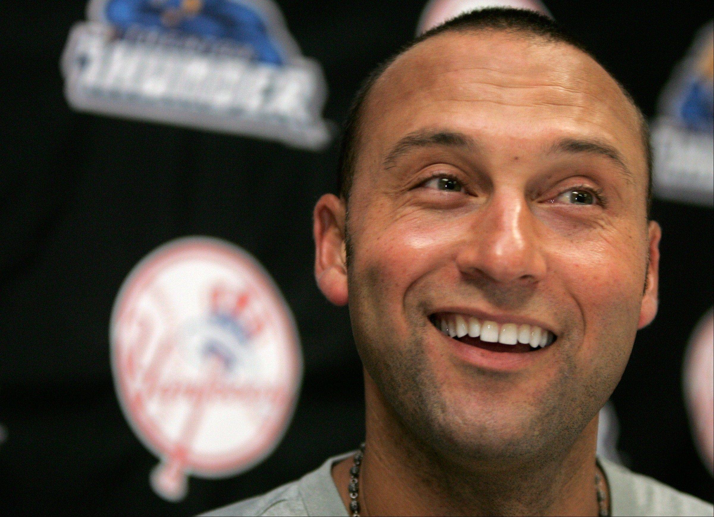 New York Yankees shortstop Derek Jeter is set to rejoin the Yankees in Cleveland on today in his return from a calf injury.