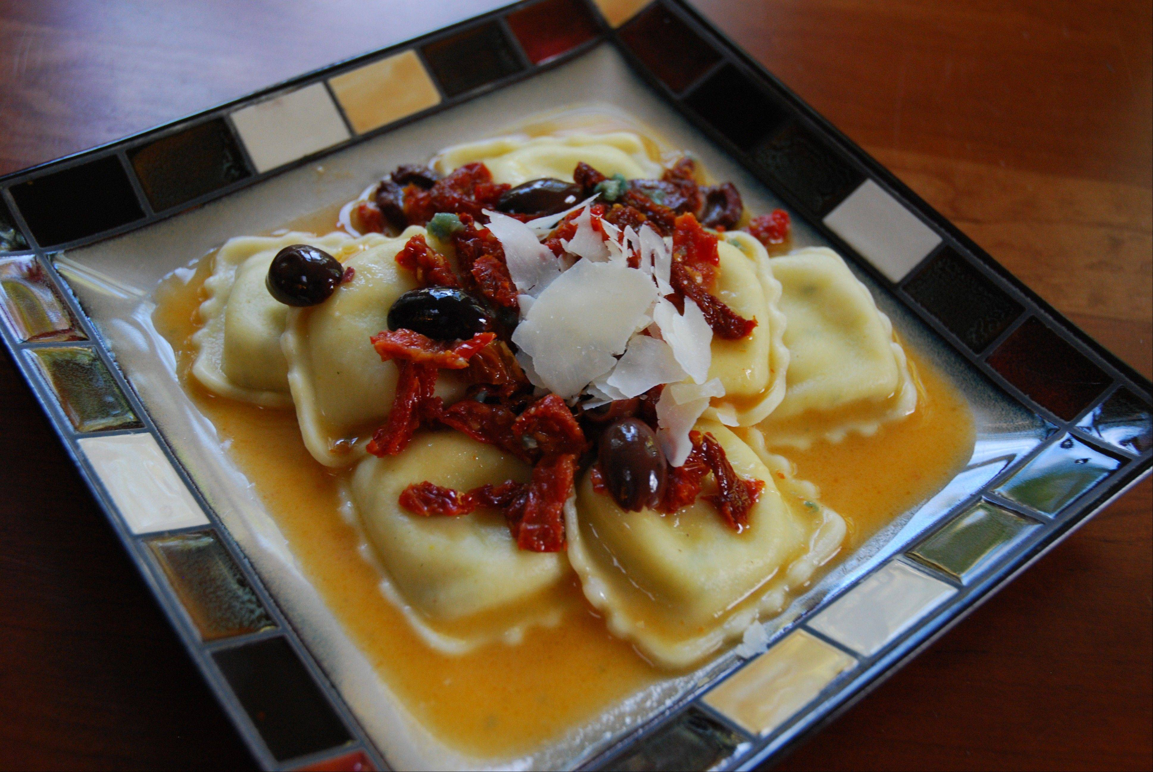 Five-Minute Cheese Ravioli