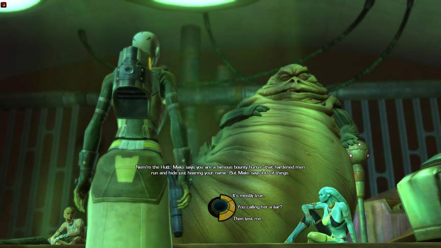 """Star Wars: The Old Republic"" gives gamers the chance to make decisions that help create the storyline."