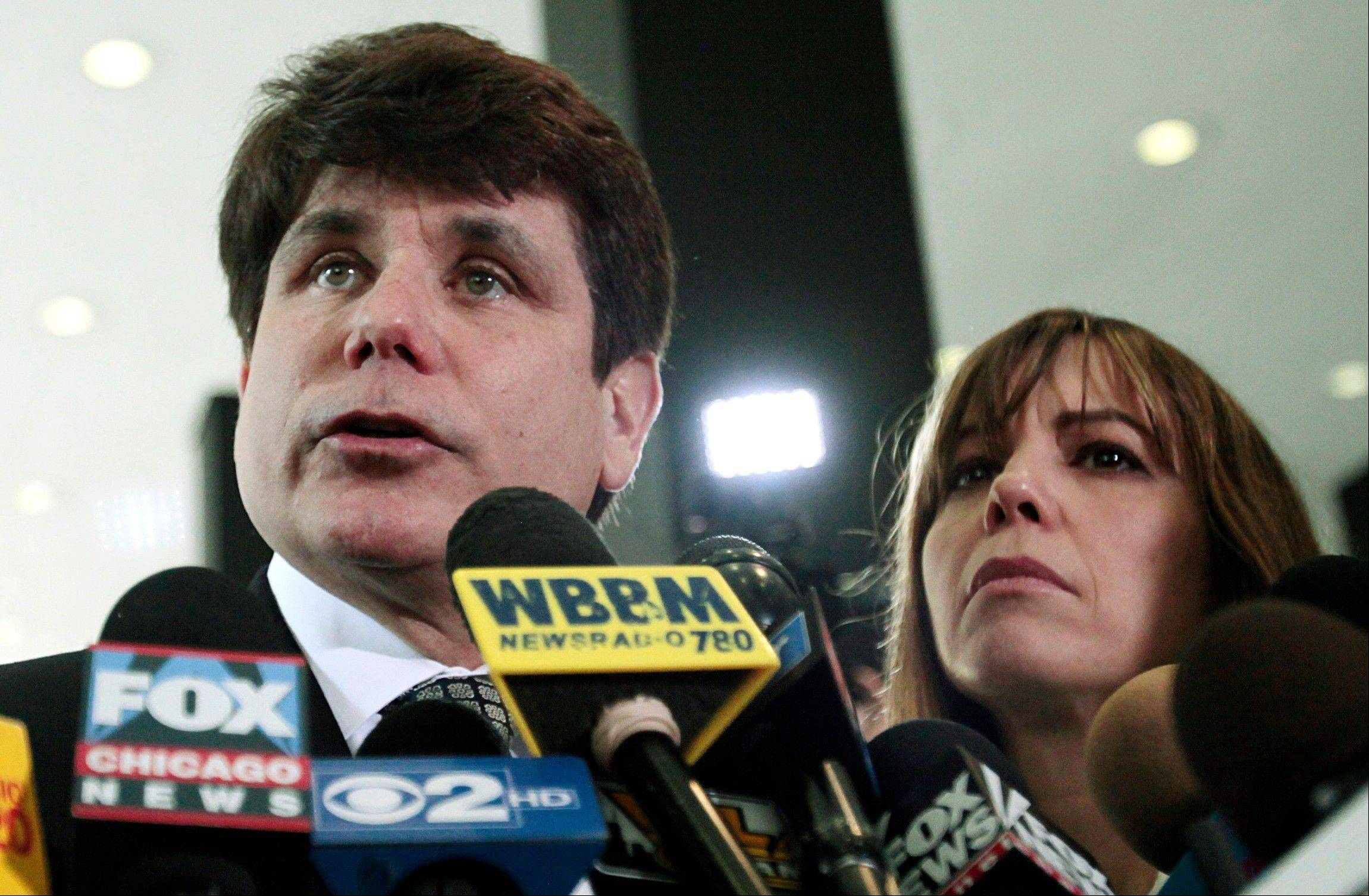 Lawyers for Rod Blagojevich have taken what could be a step toward appealing the former Illinois governor's recent convictions.