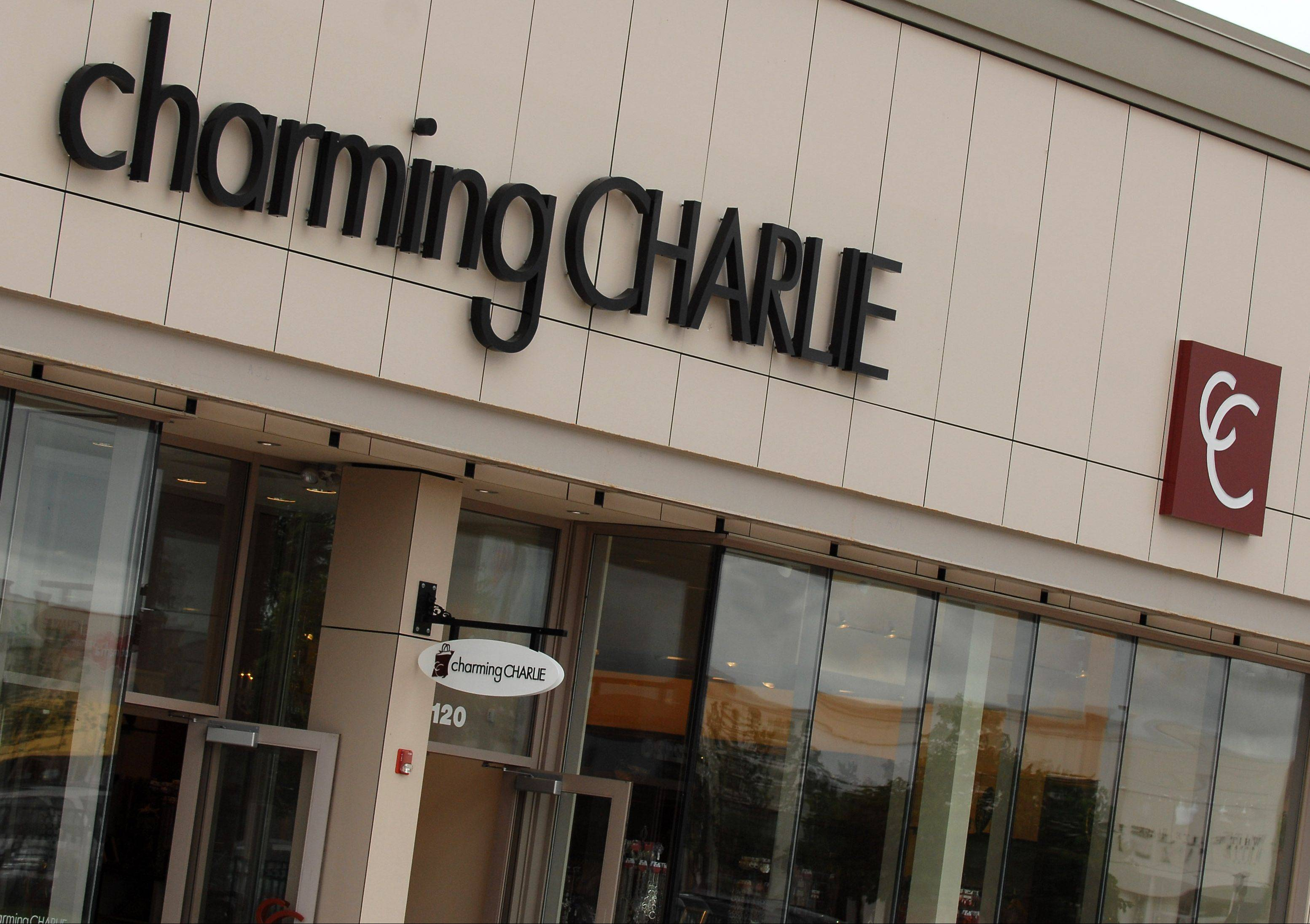 Charming Charlie, seen here in Algonquin Commons, will soon be opening a new location at Geneva Commons.