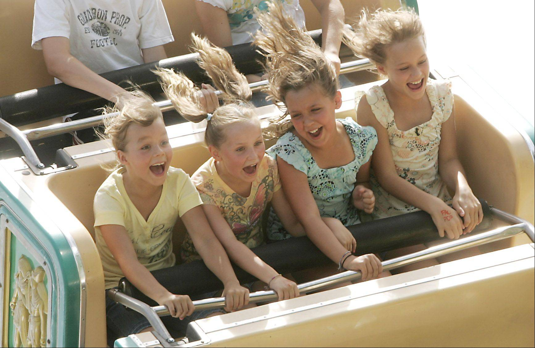 Festival lovers should prepare for a few thrills at Itasca Fest July 14-17. You'll find carnival rides, food and music, as well as a few surprises.