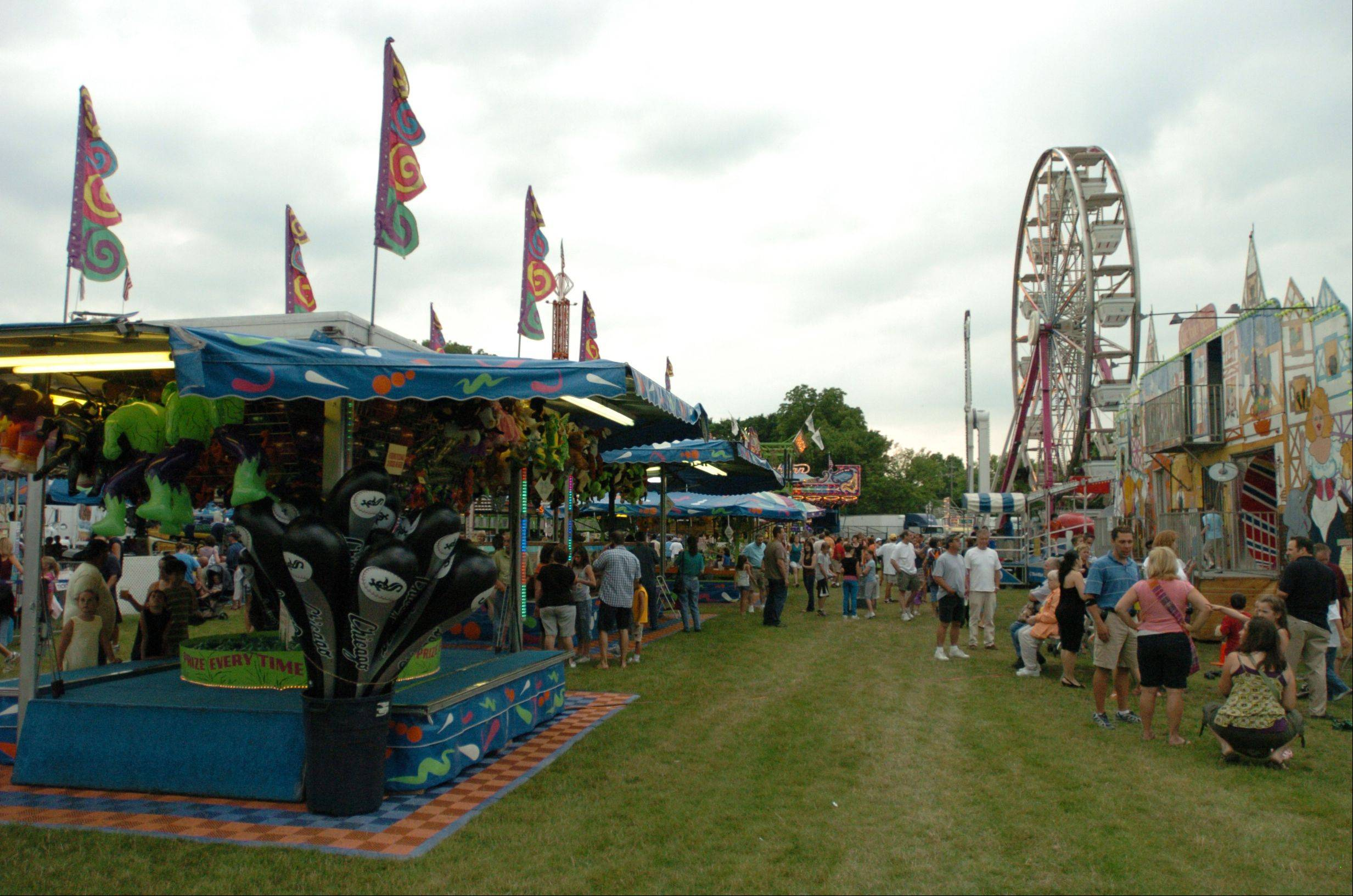 A carnival midway is just one of the diversions awaiting those who attend Itasca Fest, which opens Thursday with a lineup of music, crafts and unique attractions.