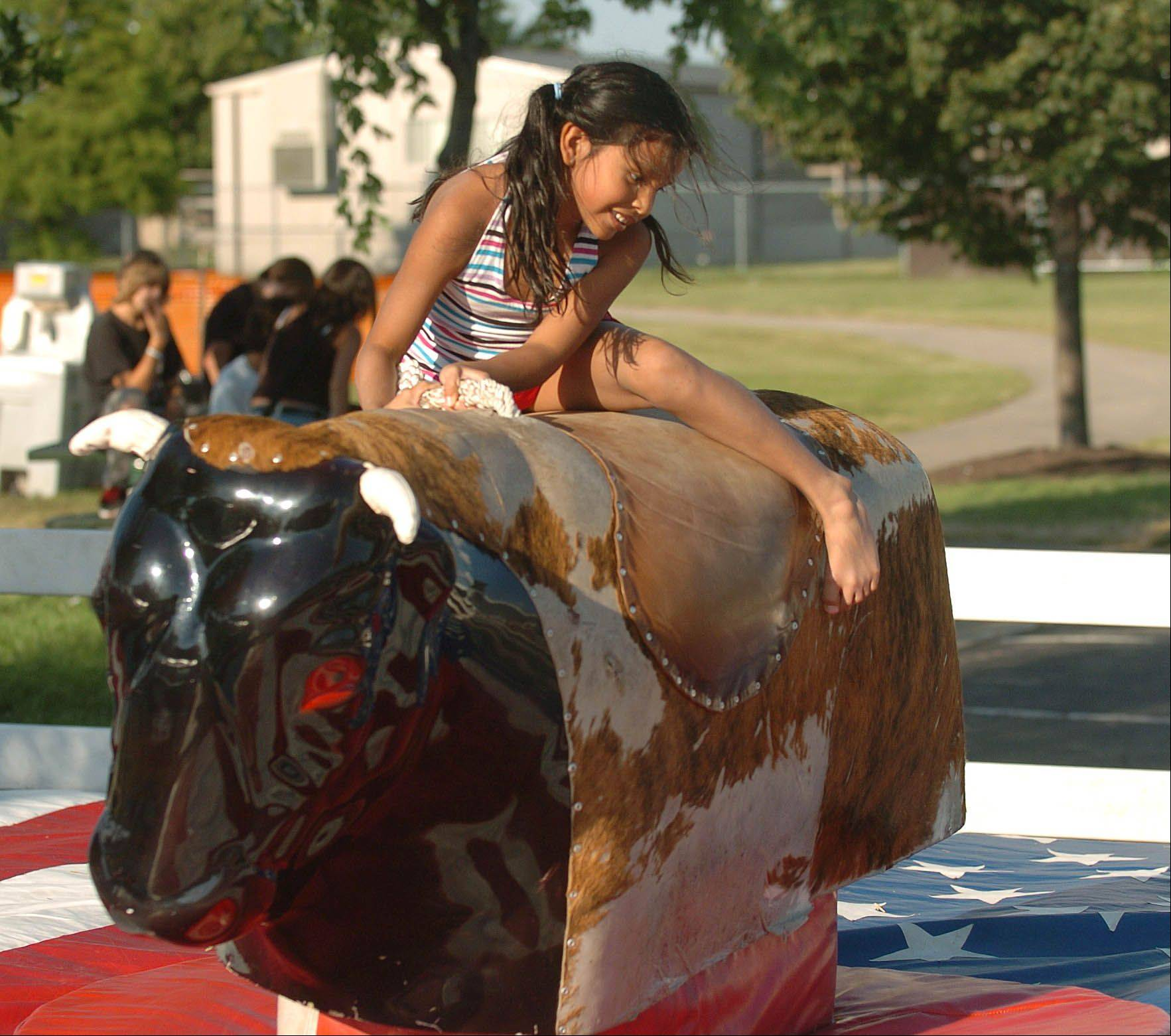 Back by popular demand, the Glendale Heights Fest once again will feature the Ride the Bull event beginning at 8 p.m. on Friday, July 8, run by the Family in Faith Christian Church. All proceeds from the event will be donated to the church's food pantry building fund.