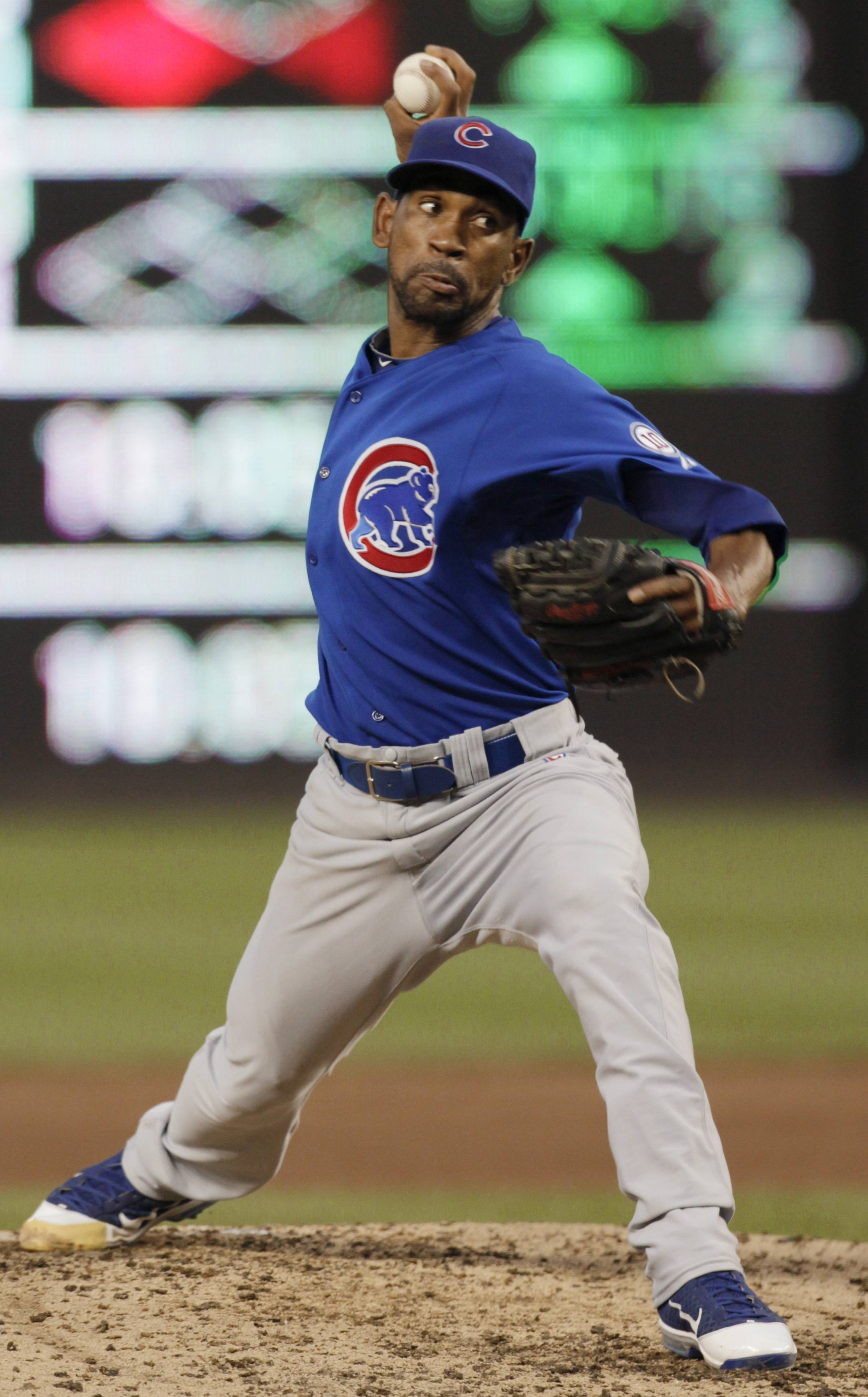 Ramon Ortiz was the 10th different pitcher to start a game for the Cubs this season.