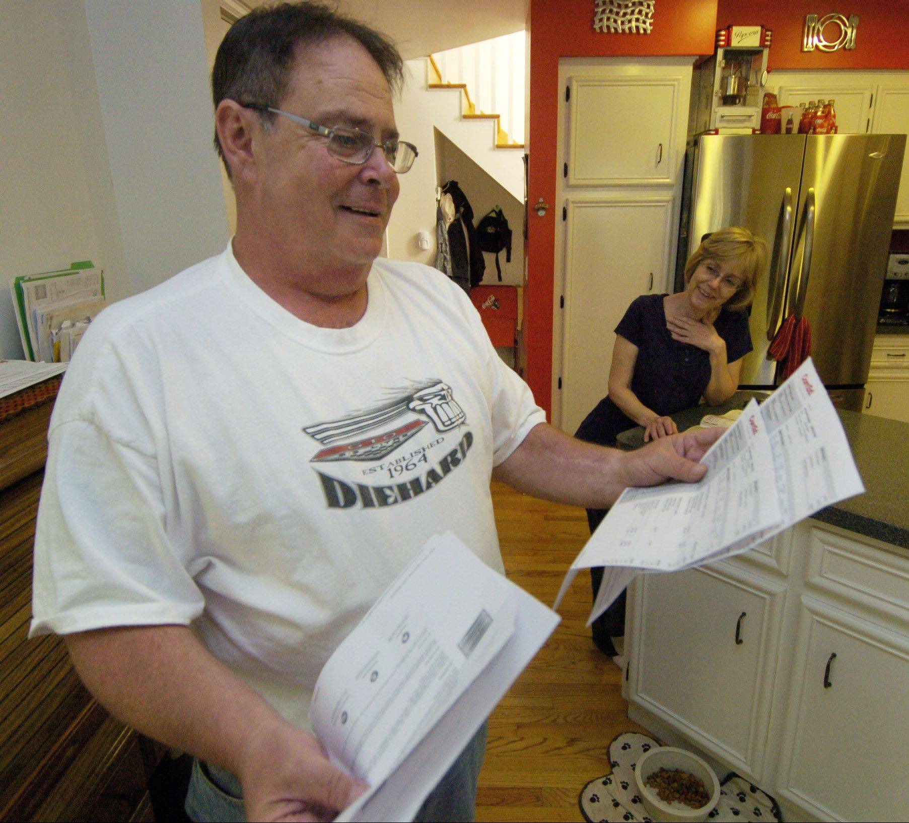 Eric Bogoff of Wheeling and his wife, Connie, are frustrated with ComEd's billing procedures and they are considering switching to an alternate provider of electricity.