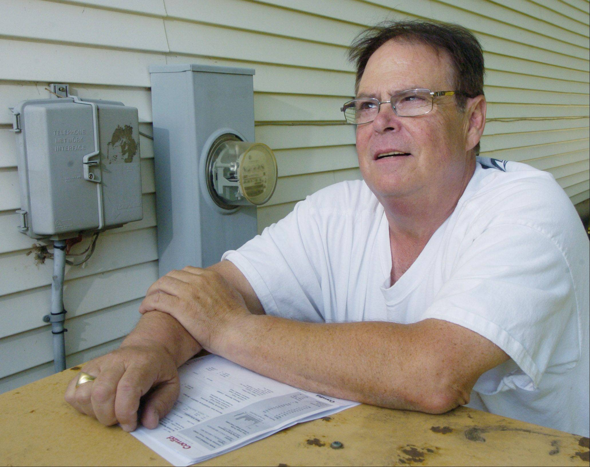 Eric Bogoff of Wheeling is considering switching from ComEd to an alternate provider of electricity.