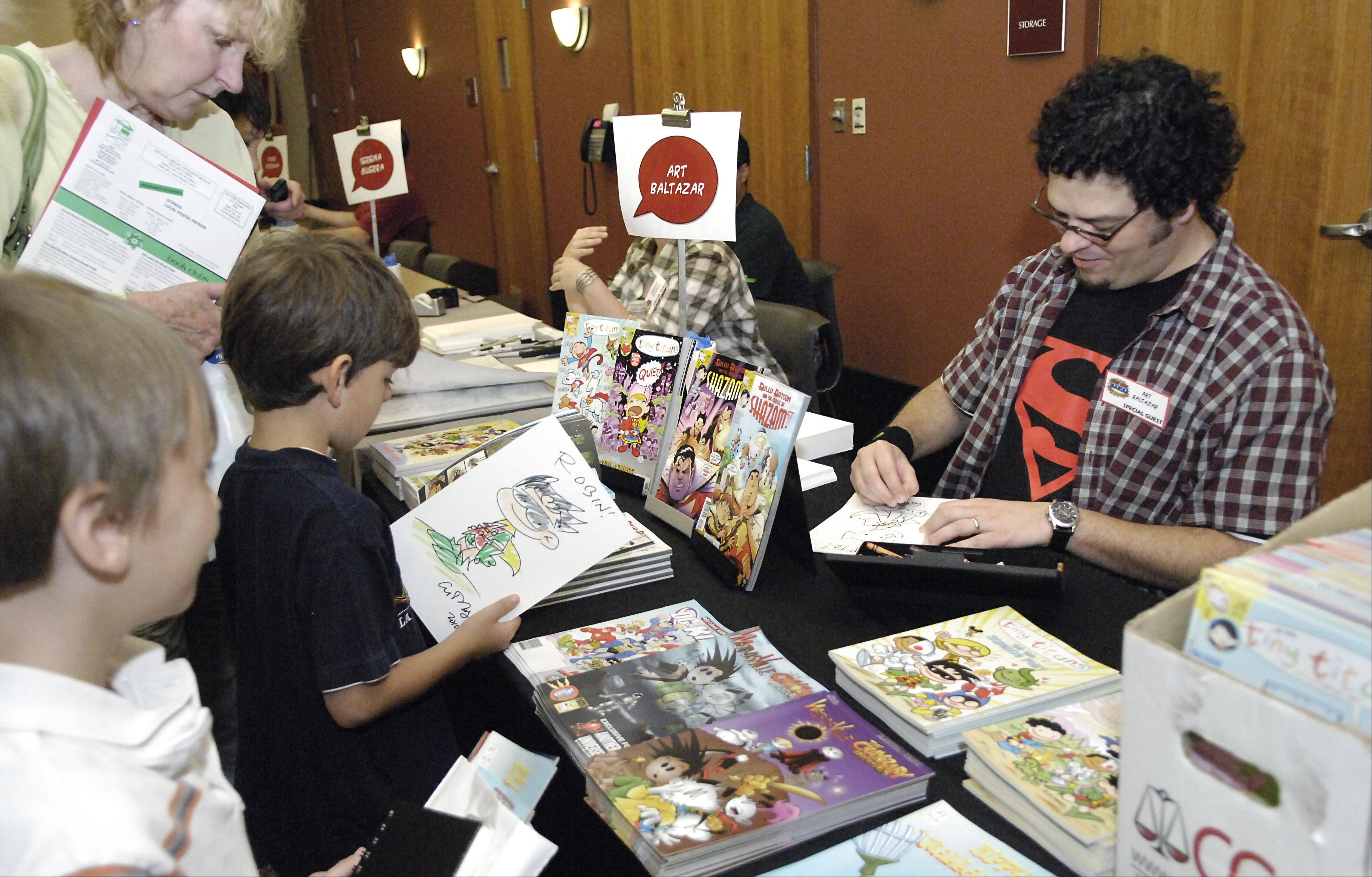 Guest artists and writers will talk about their work Saturday at the second annual comic book convention at the Gail Borden Public Library in Elgin.
