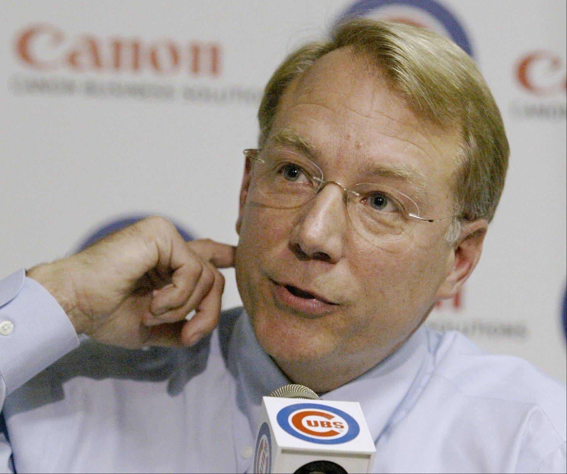 Chicago Cubs president Andy MacPhail resigned as president of the Cubs on Sunday, Oct. 1, 2006 after an 8-5 victory over the Colorado Rockies in what was Dusty Baker's final game as manager.