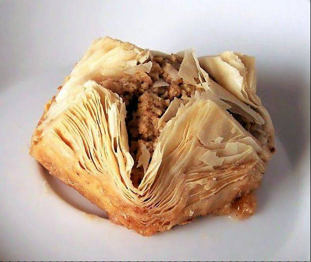 Baklava will be on the menu at this weekend's Greek festival at St. Sophia Greek Orthodox Church in Elgin.