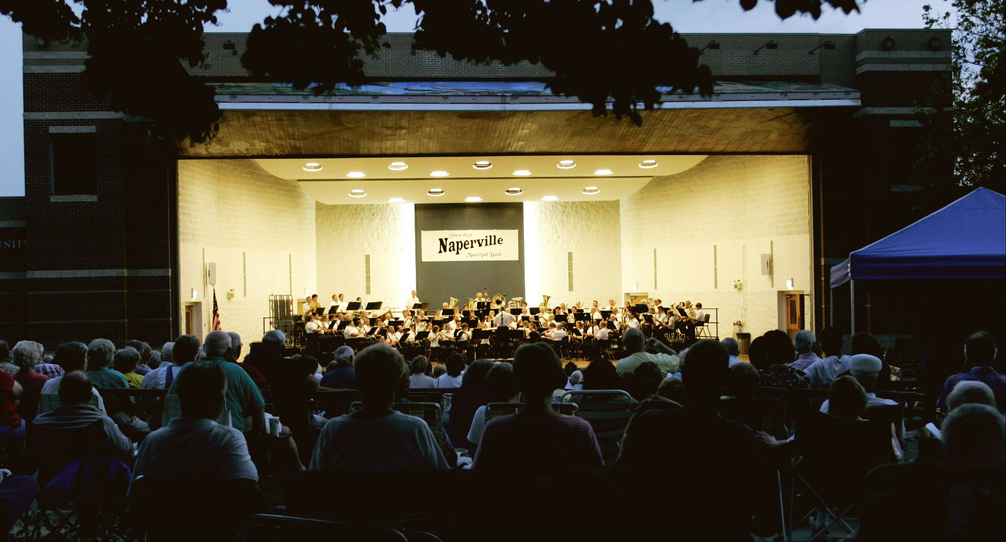 The Sousa National Community band, hosted by the Naperville Municipal Band, will perform at 7 p.m. Sunday, July 10, at the Community Concert Center, 104 E. Benton Ave. The annual concert attracts musicians from across the country and is conducted by the acclaimed Col. John Bourgeois, formerly of the U.S. Marine Band.