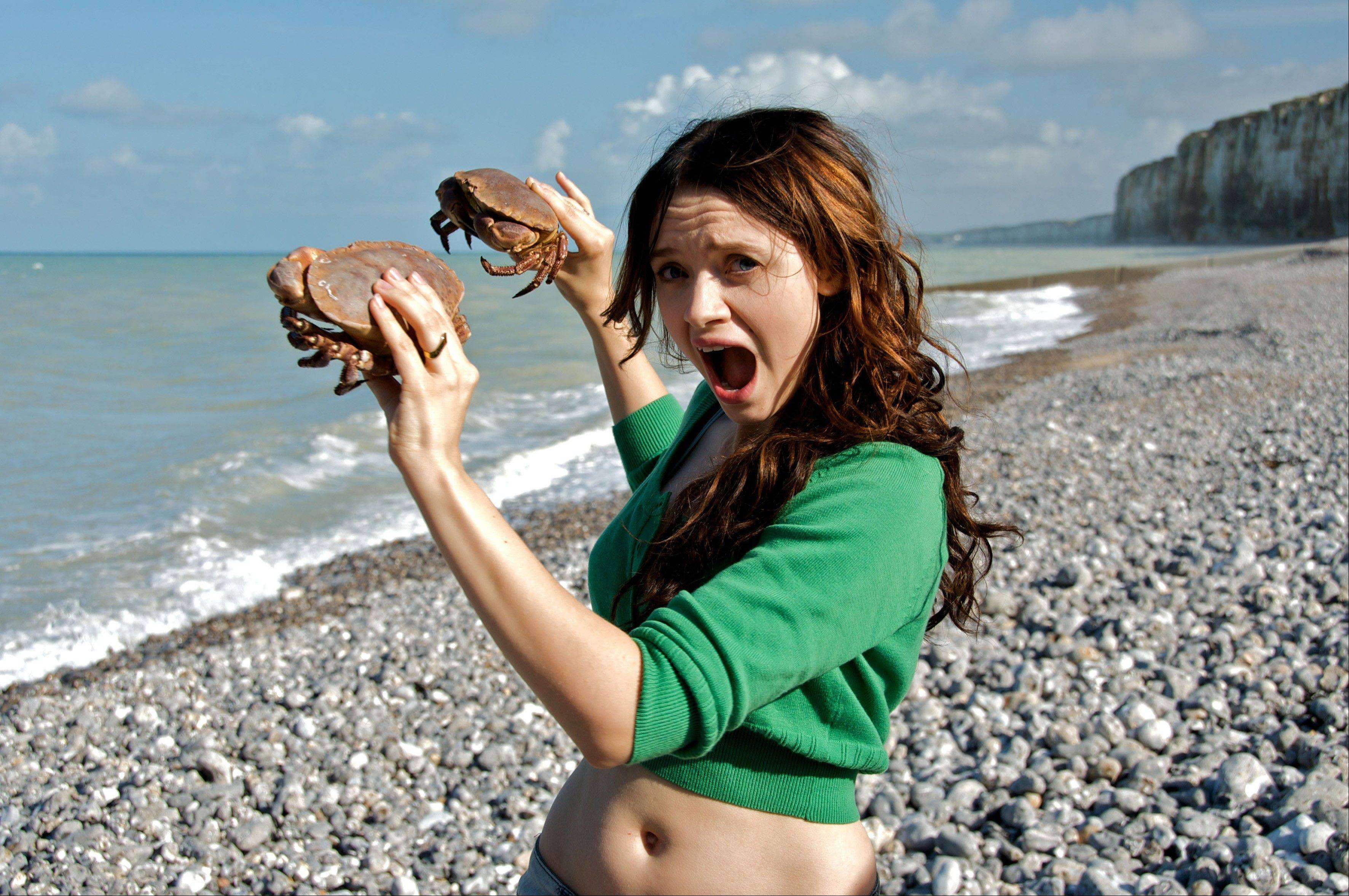 "Baya (French best actress Sara Forestier) buys imprisoned sea creatures so she can free them in the political romantic comedy ""The Names of Love."""
