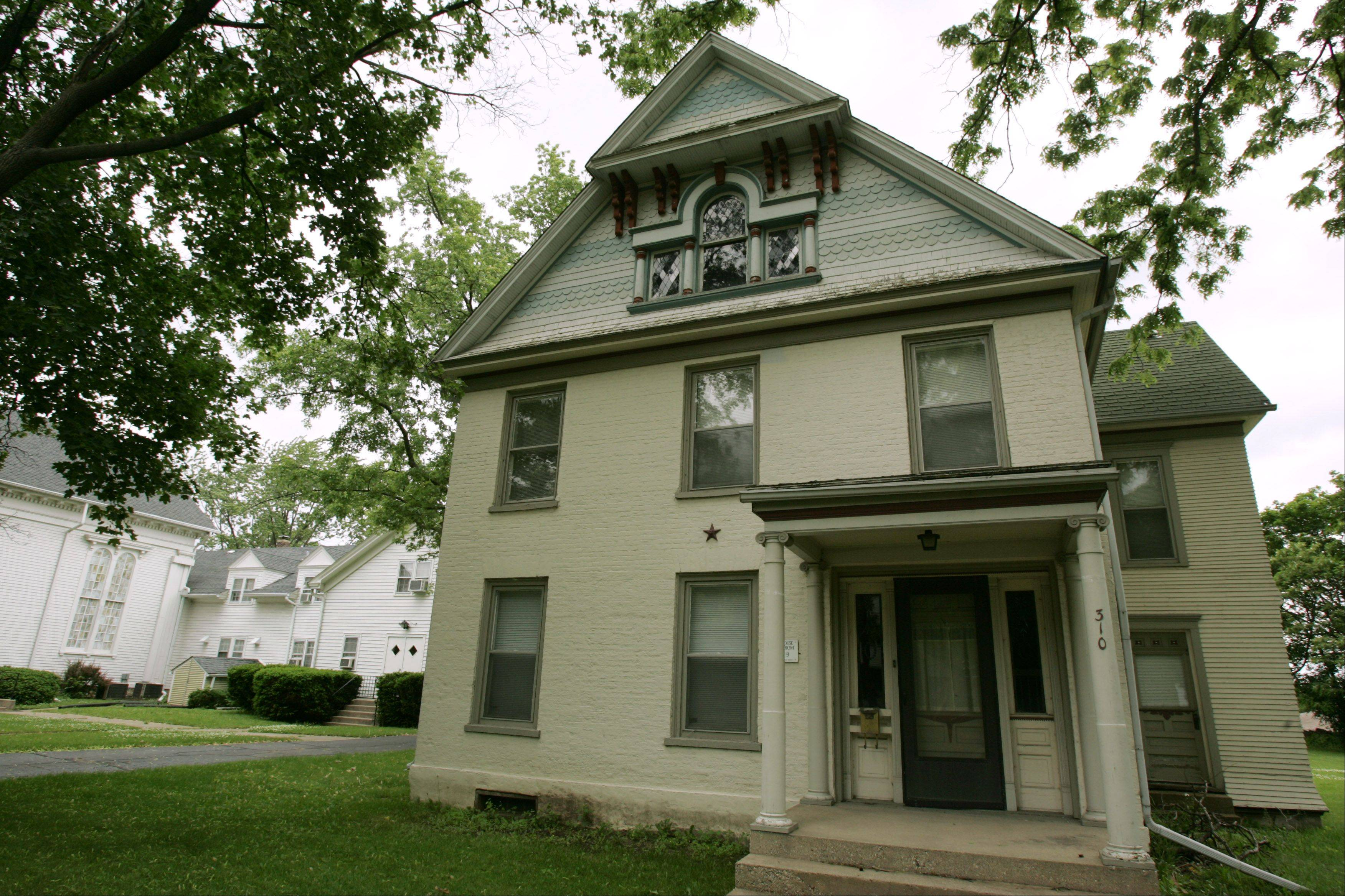 The parsonage at First United Methodist Church in West Dundee remains the subject of debate. Preservationists want to save the historic building, but church leaders have said they want to tear it down because it's in bad shape and of no use.