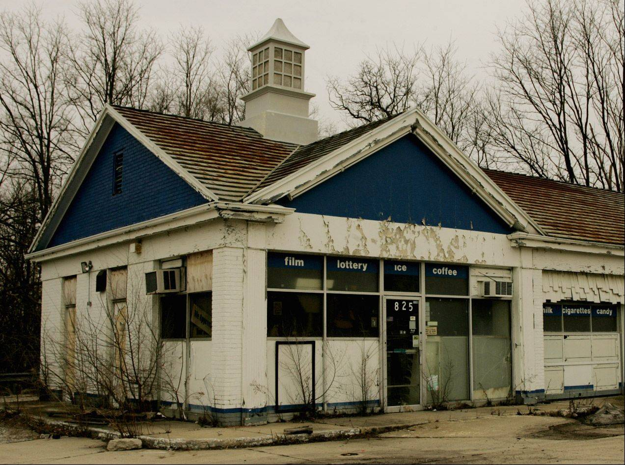 A Marathon gas station at 825 N. Main St. in Glen Ellyn was demolished this spring to make way for other possible commercial uses.