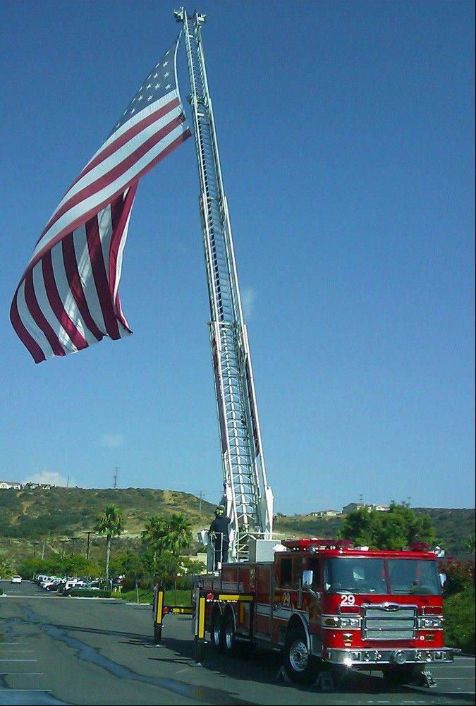 The Patriot Flag, flying in San Diego