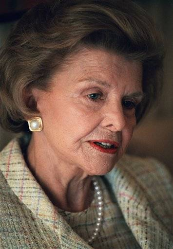 Former first lady Betty Ford has died at 93.