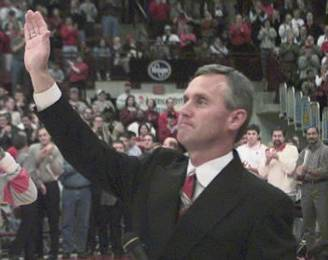 Former Ohio State University Football Coach Jim Tressel