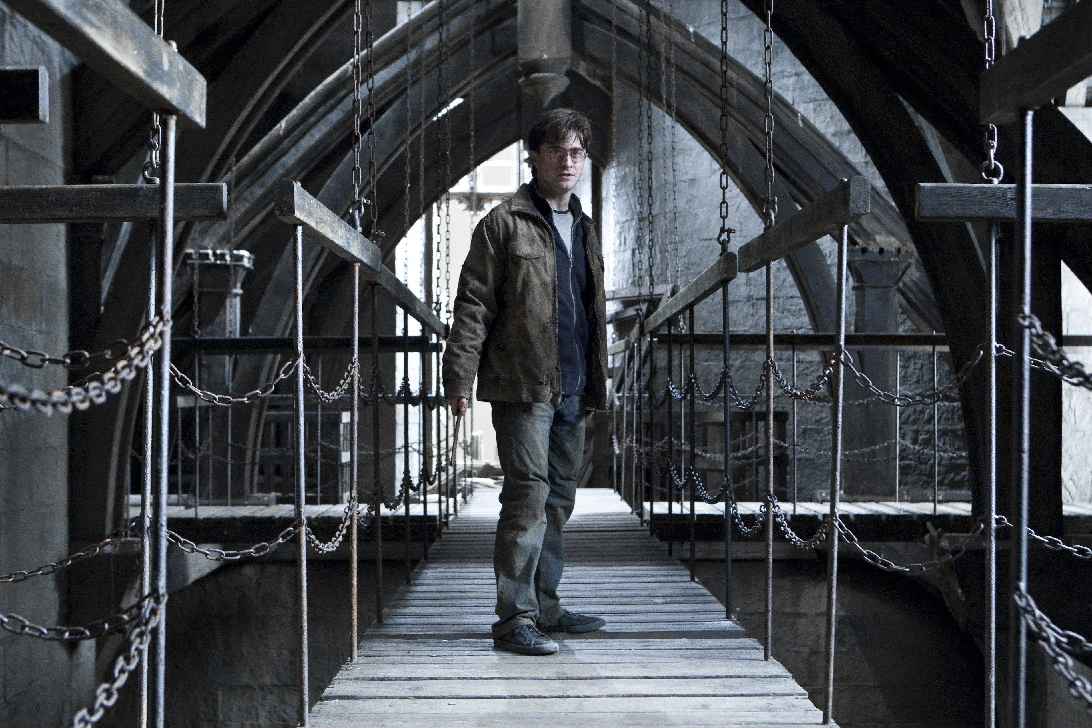 "Harry Potter (Daniel Radcliffe) finally faces his destiny in ""Harry Potter and the Deathly Hallows Part 2."""