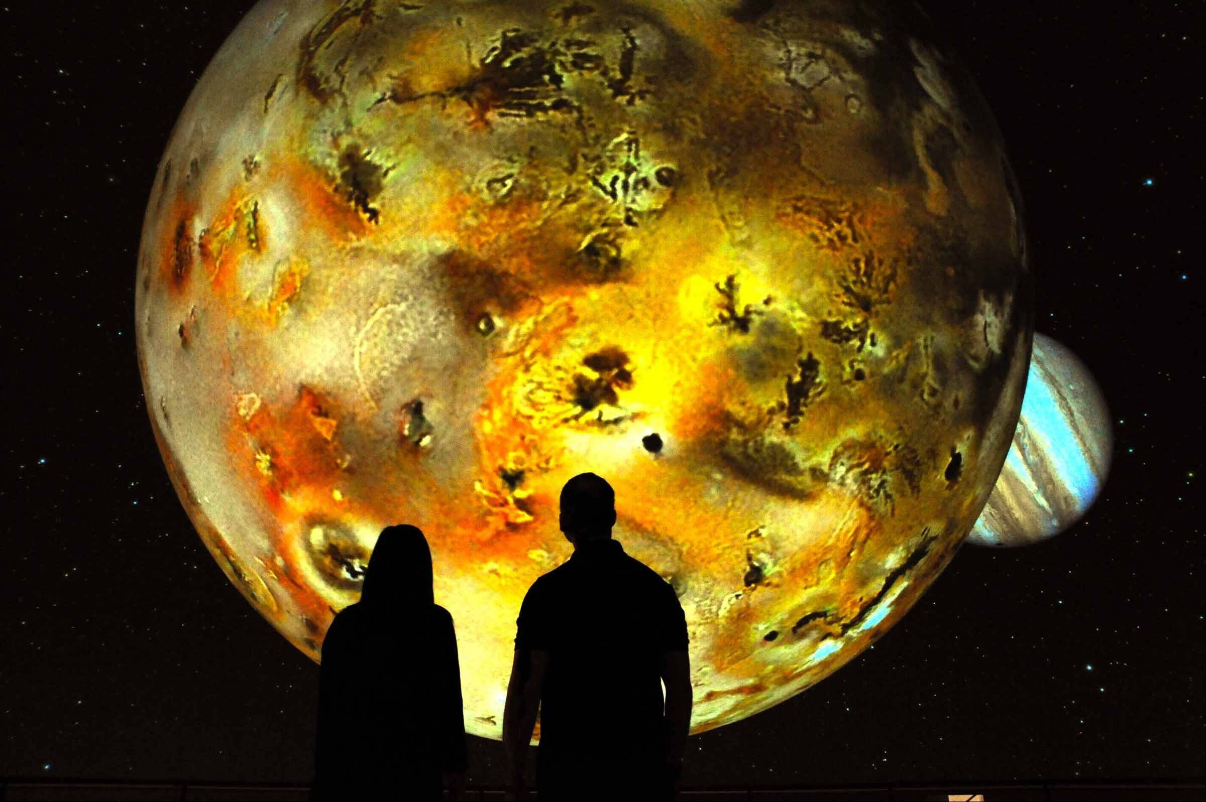 """Deep Space Adventure"" launches today at the Adler Planetarium in Chicago."