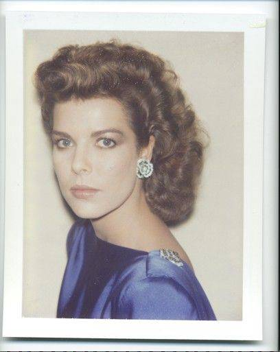 Courtesy of the Gahlberg GalleryA 1983 Polaroid photograph of Princess Caroline of Monaco is part of an exhibit of Andy Warhol photographs at the Gahlberg Gallery at the McAninch Arts Center at the College of DuPage. The free exhibit runs through Saturday, Aug. 6.