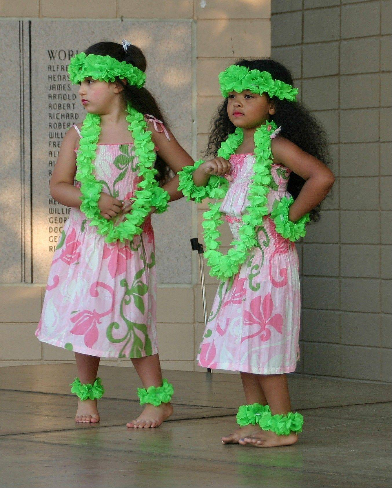 The Keiki open The Barefoot Hawaiian Live at the Lake performance July 6.