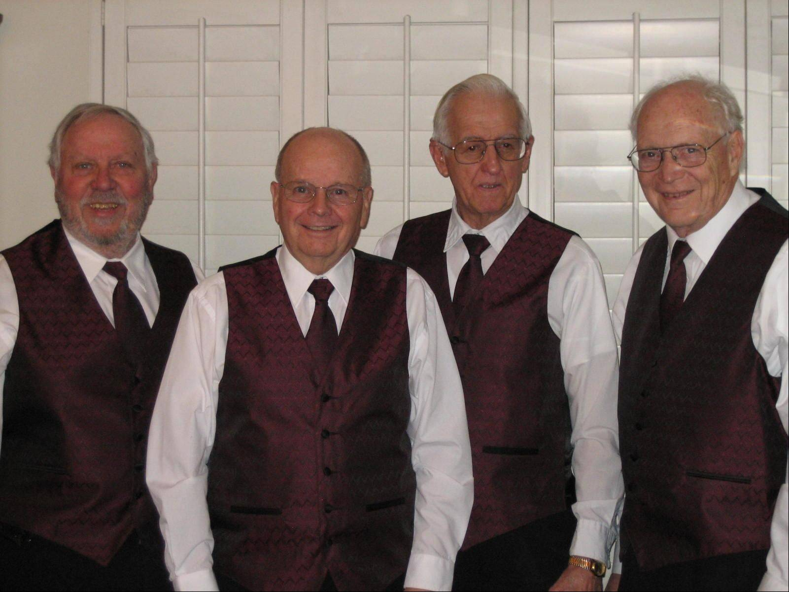 The Clefhanges, a barbershop quartet, will be one of the highlights of McHenry County Historical Society's annual Heritage Fair Sunday, July 10.
