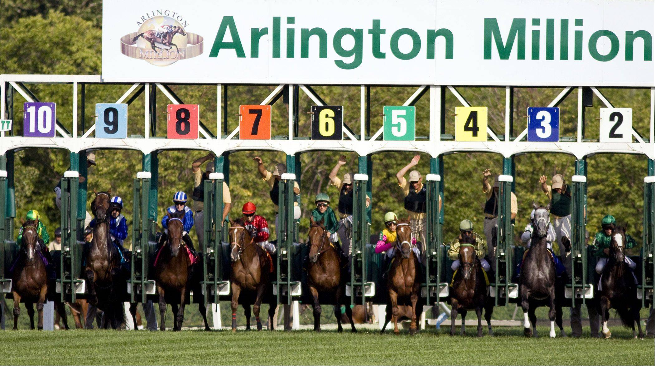 Photo courtesy of FourFootedFotos �It's not Million Day, but it's the next best thing when Arlington Park hosts Million Preview Day on Saturday