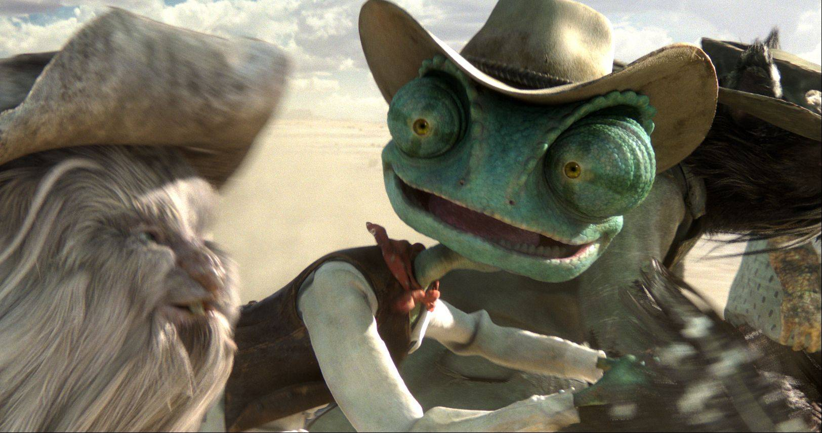 Paramount�s first fully owned animated movie, �Rango,� has grossed more than $240 million worldwide since its release in March.