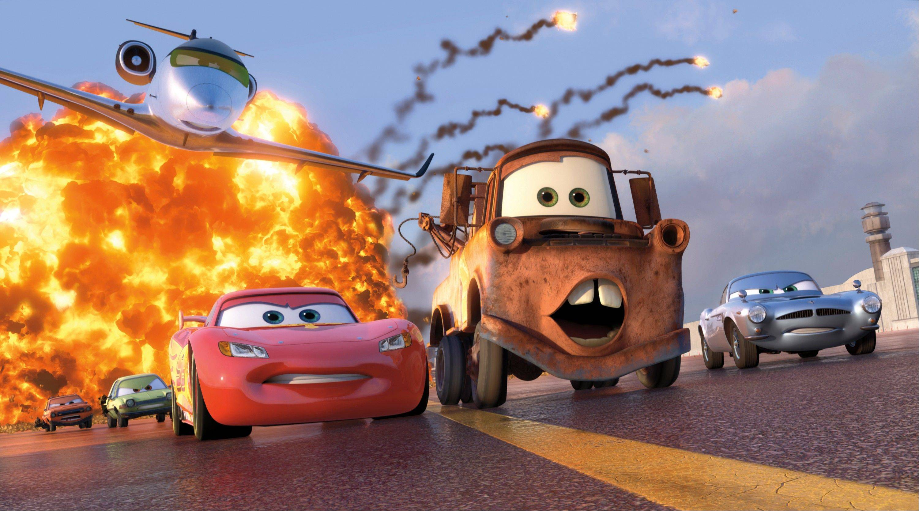 Walt Disney Studios Motion Pictures, distributor of �Cars 2,� is among the companies participating in the online copyright alert system.