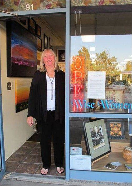 Sue Briesch, owner of Wise Women Gallery and Gifts in Lake Zurich
