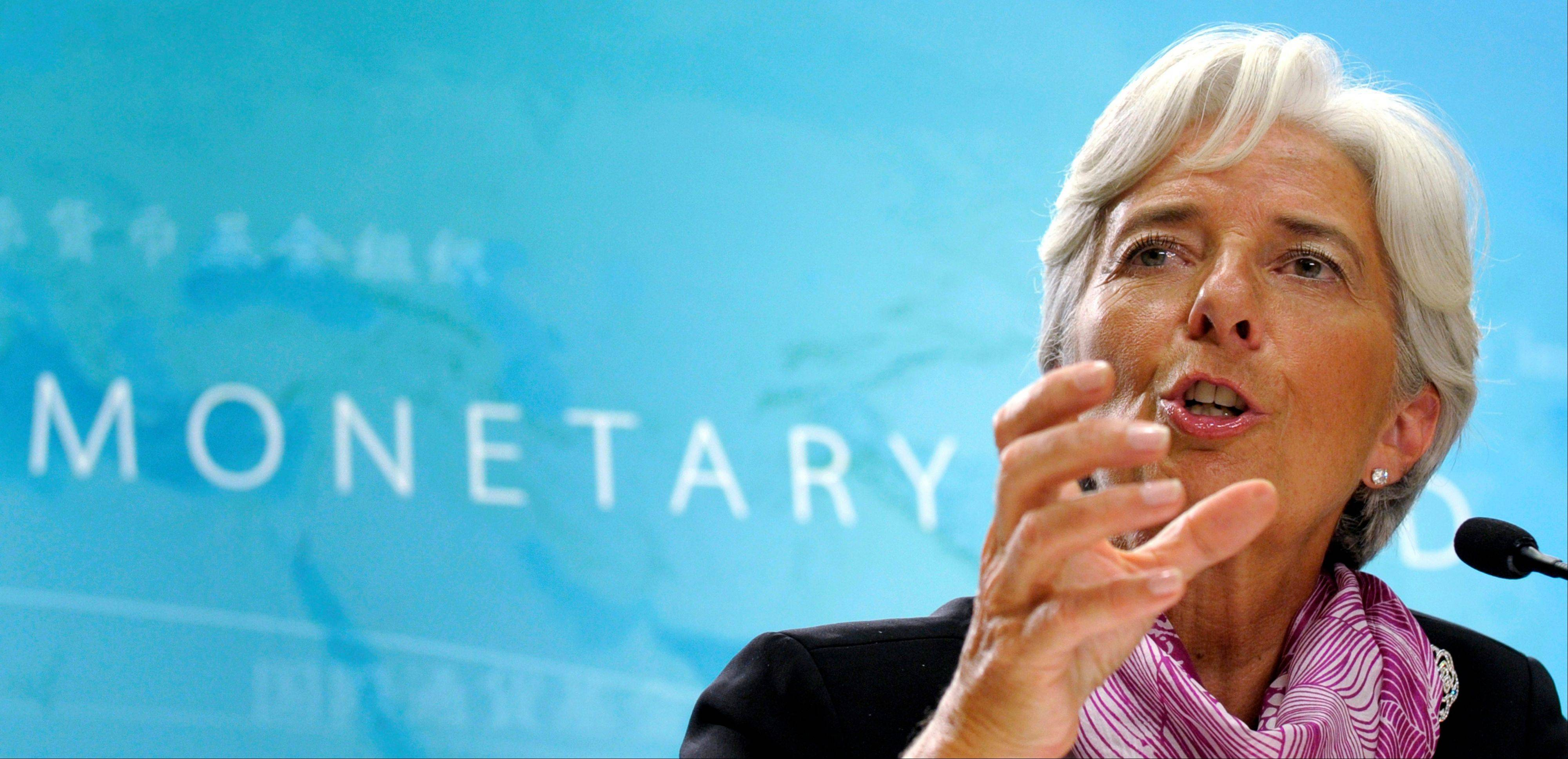 "International Monetary Fund Managing Director Christine Lagarde said Sunday she foresees ""real nasty consequences"" for the U.S. and global economies if the U.S. fails to raise its borrowing limit."