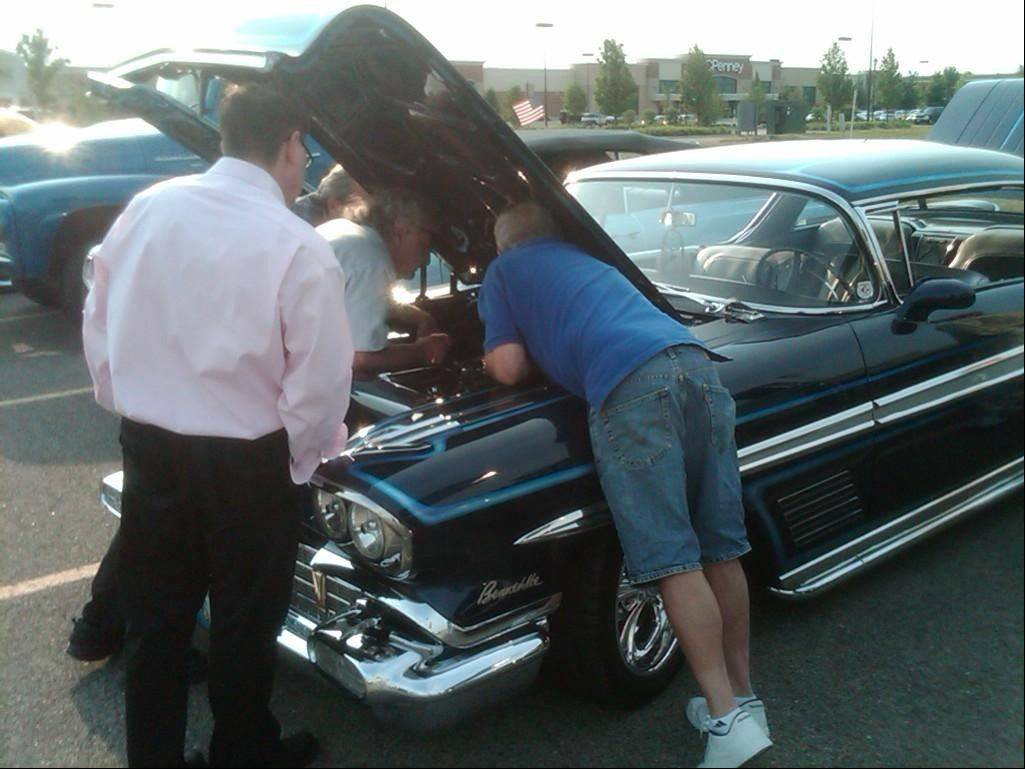 Car enthusiasts are invited to this month's summer cruise night on Tuesday, July 12, in Algonquin.