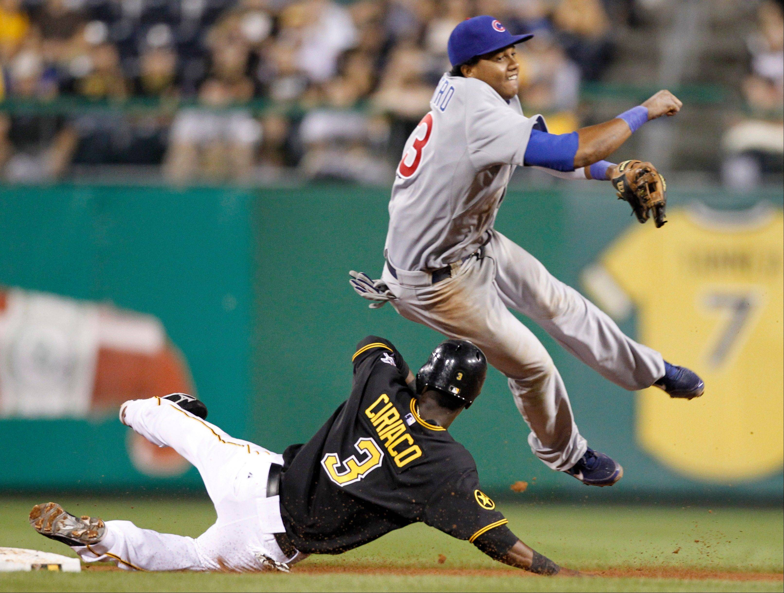 Shortstop Starlin Castro has been one of the few bright spots in a dismal season for the Cubs.