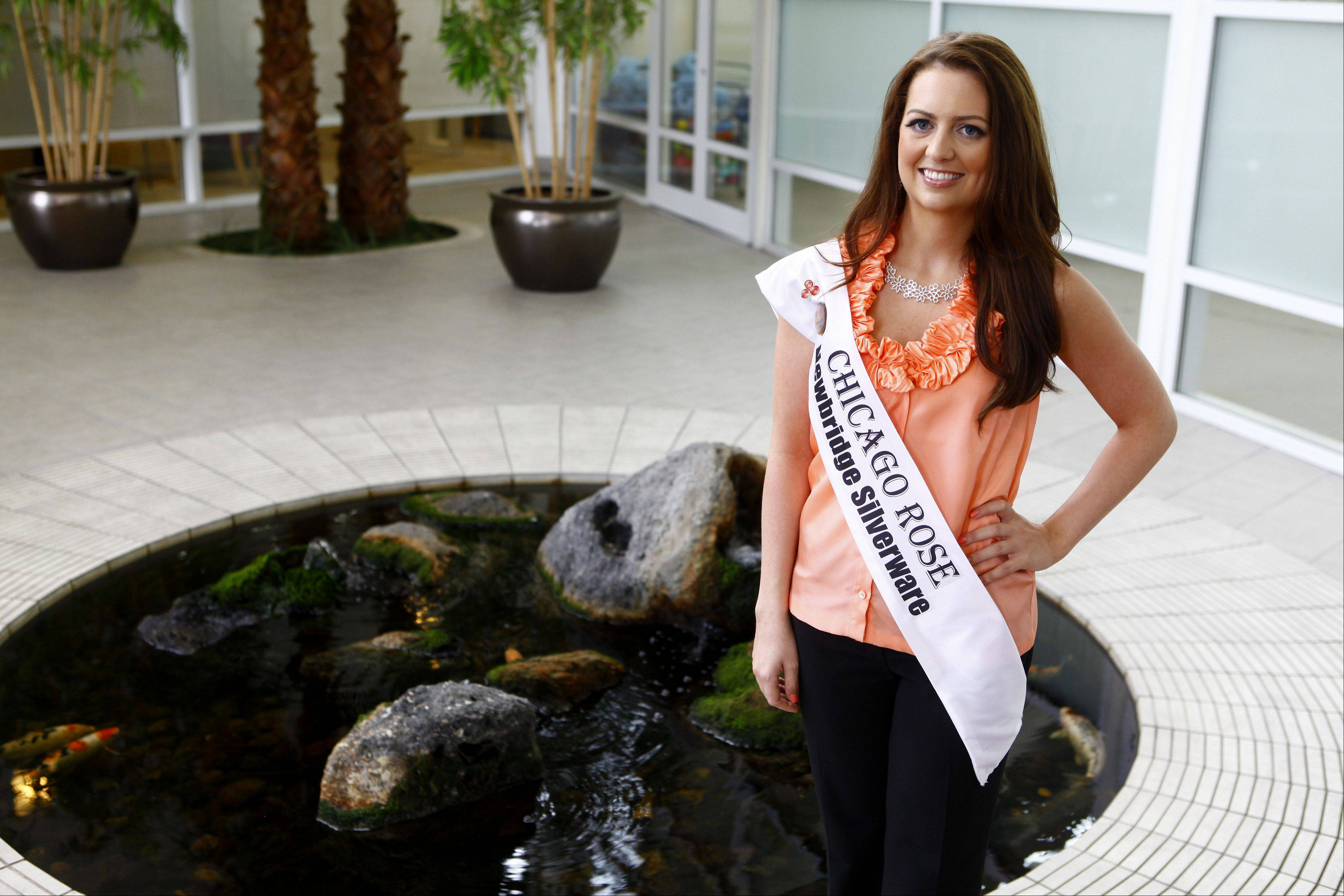 Siobhan Carroll, of Arlington Heights, will be representing Chicago's Irish community in next month's finals of the Rose of Tralee in Ireland. Carroll is one of 32 finalists from all over the world chosen for the finals.