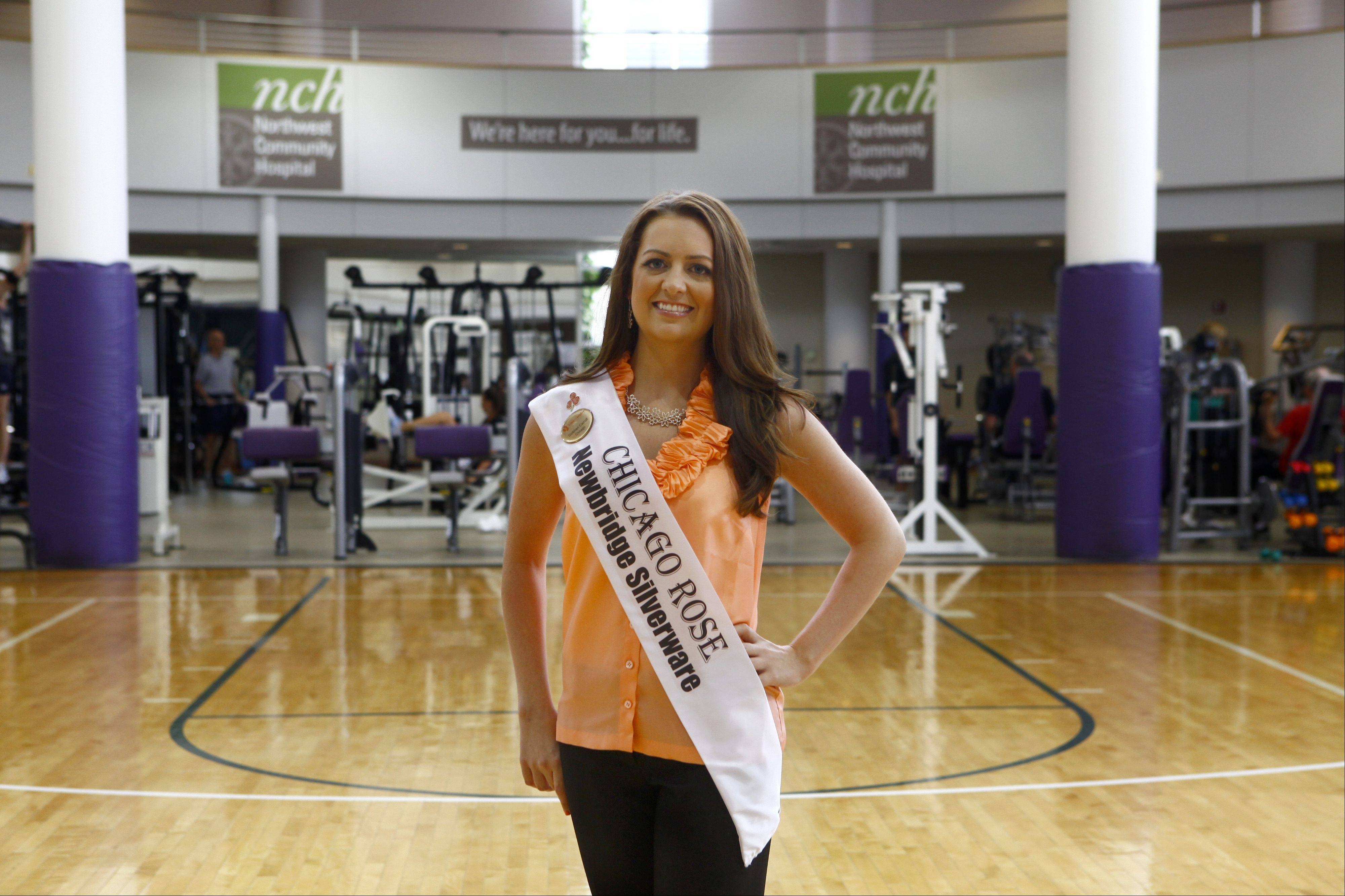 Siobhan Carroll, of Arlington Heights, an administration assistant at Northwest Community Hospital, will be representing Chicago's Irish community in the finals of the Rose of Tralee in Ireland. Carroll is one of 32 finalists from all over the world competing in next month's finals.