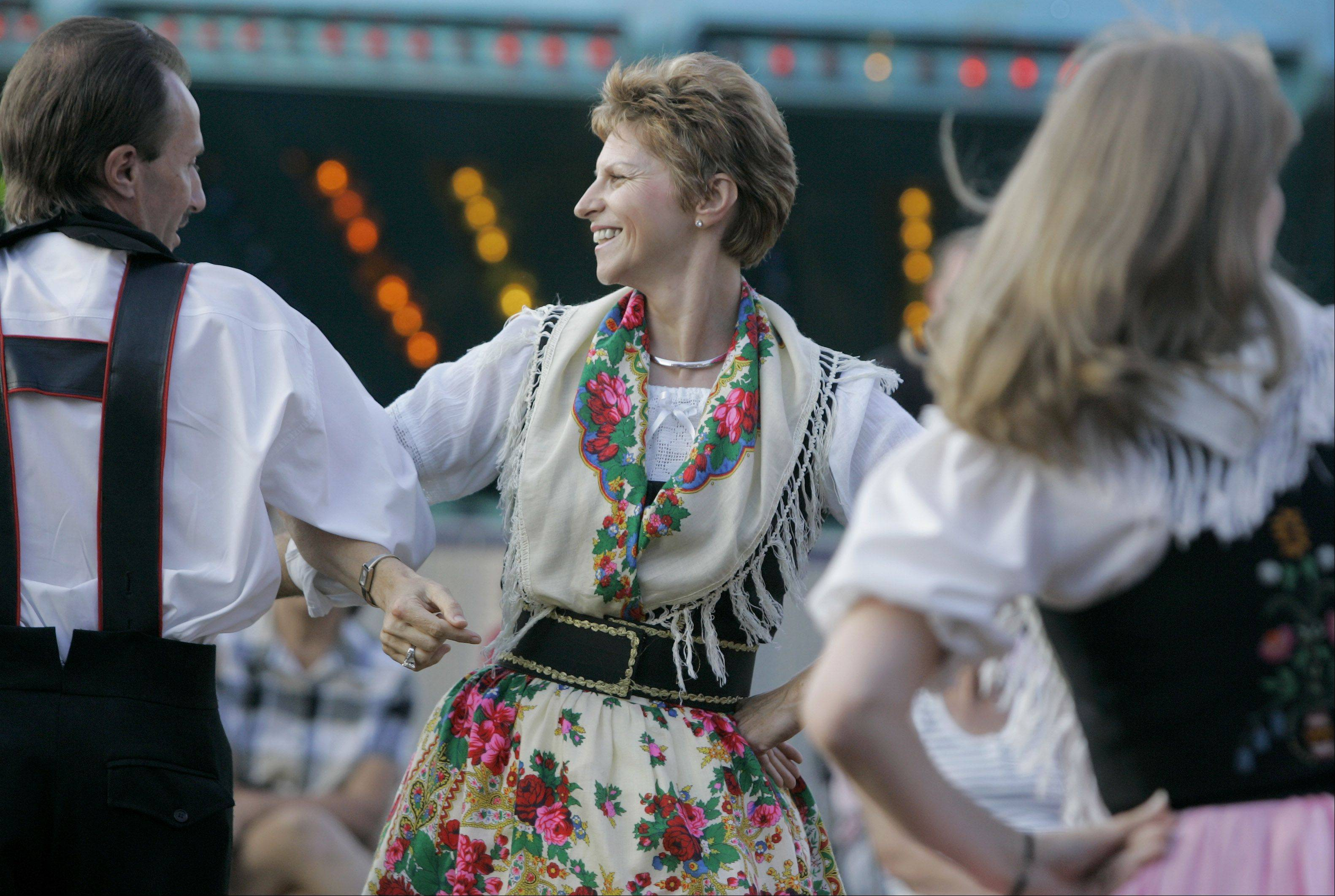 Traditional dance and music are regular features of Lombard's Sacred Heart Germanfest, which opens Thursday and continues through Sunday.