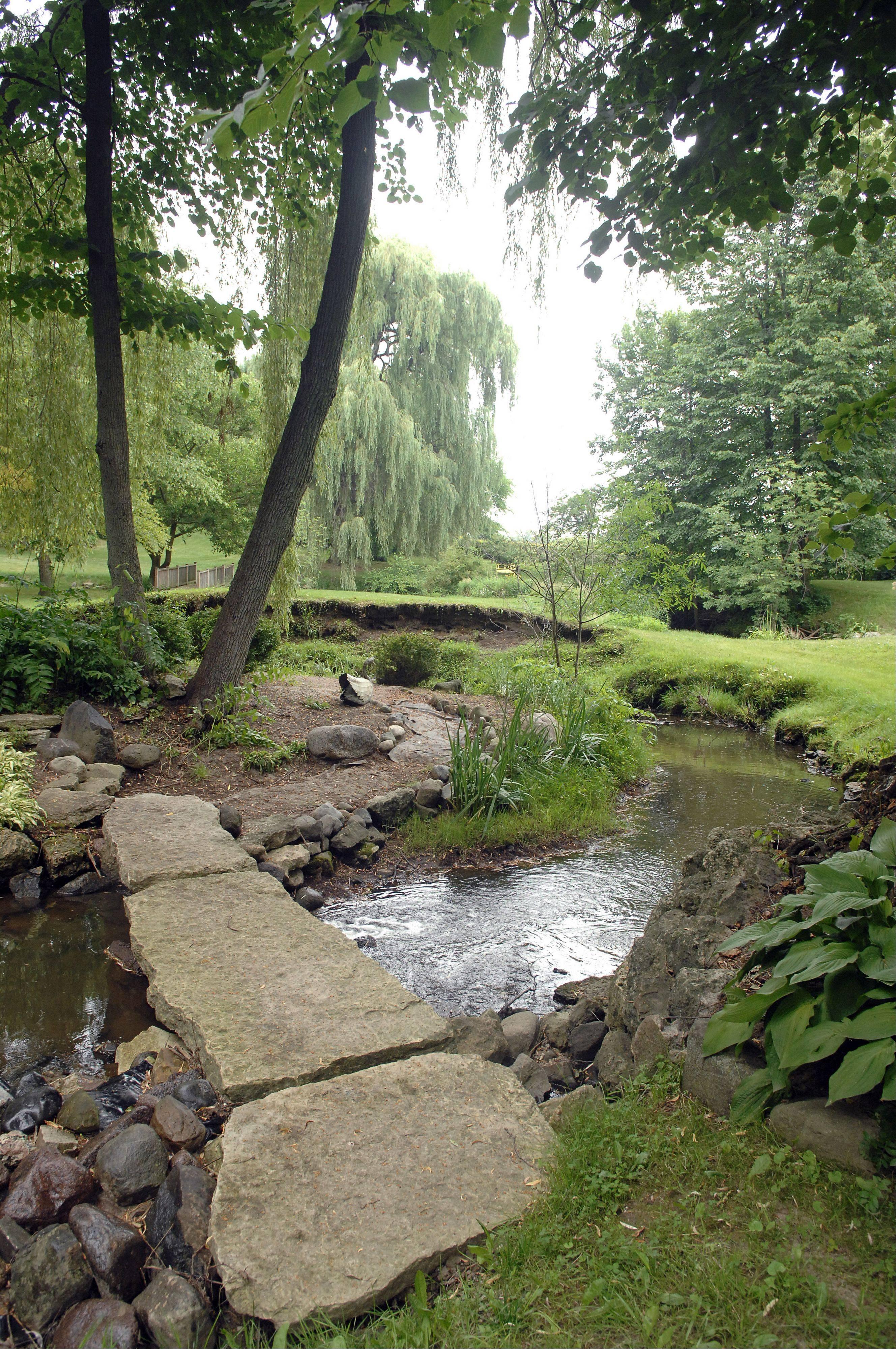 The property of Rachel and Aubrey Neville, of Elgin, will be one of seven featured in a Garden Conservancy Open Days Program on Saturday, July 16. They have been working on over 50 acres of land for decades.