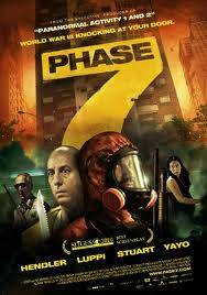 """Phase 7"" director Nicolas Goldbart strives for a mixture of suspense, thrills and dark comic relief, but he fails to muster sufficient levels of any of them."