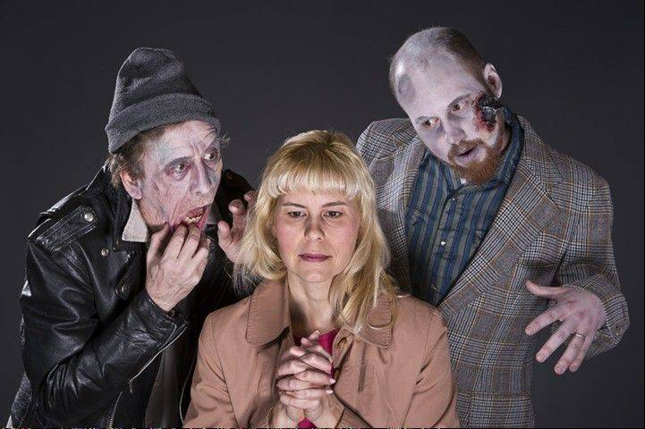 "Scenes from ""Night of the Living Dead"" are being performed on the weekends in October as part of the Arboretum's Theatre-Hikes program."