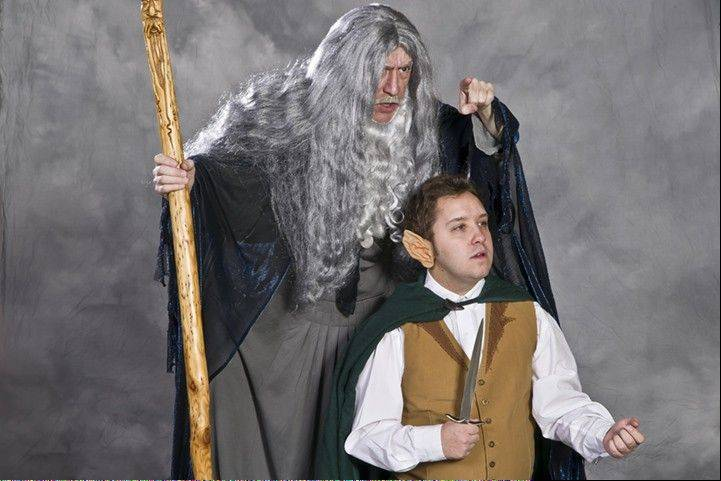 "Scenes from ""The Hobbit"" are being performed on the weekends this month as part of the Arboretum's Theatre-Hikes program."