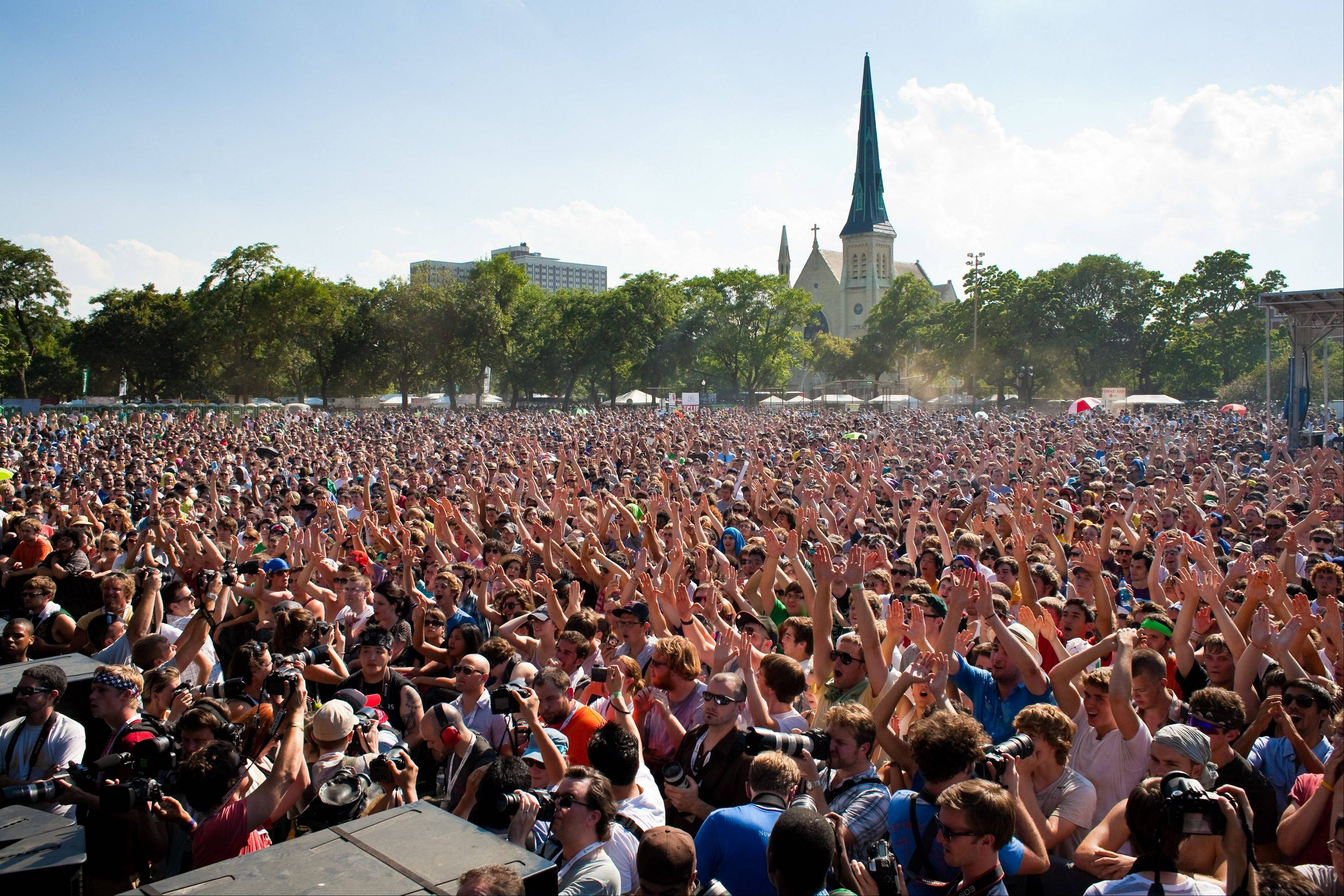 Music fans will find a variety of old and new acts at Pitchfork.