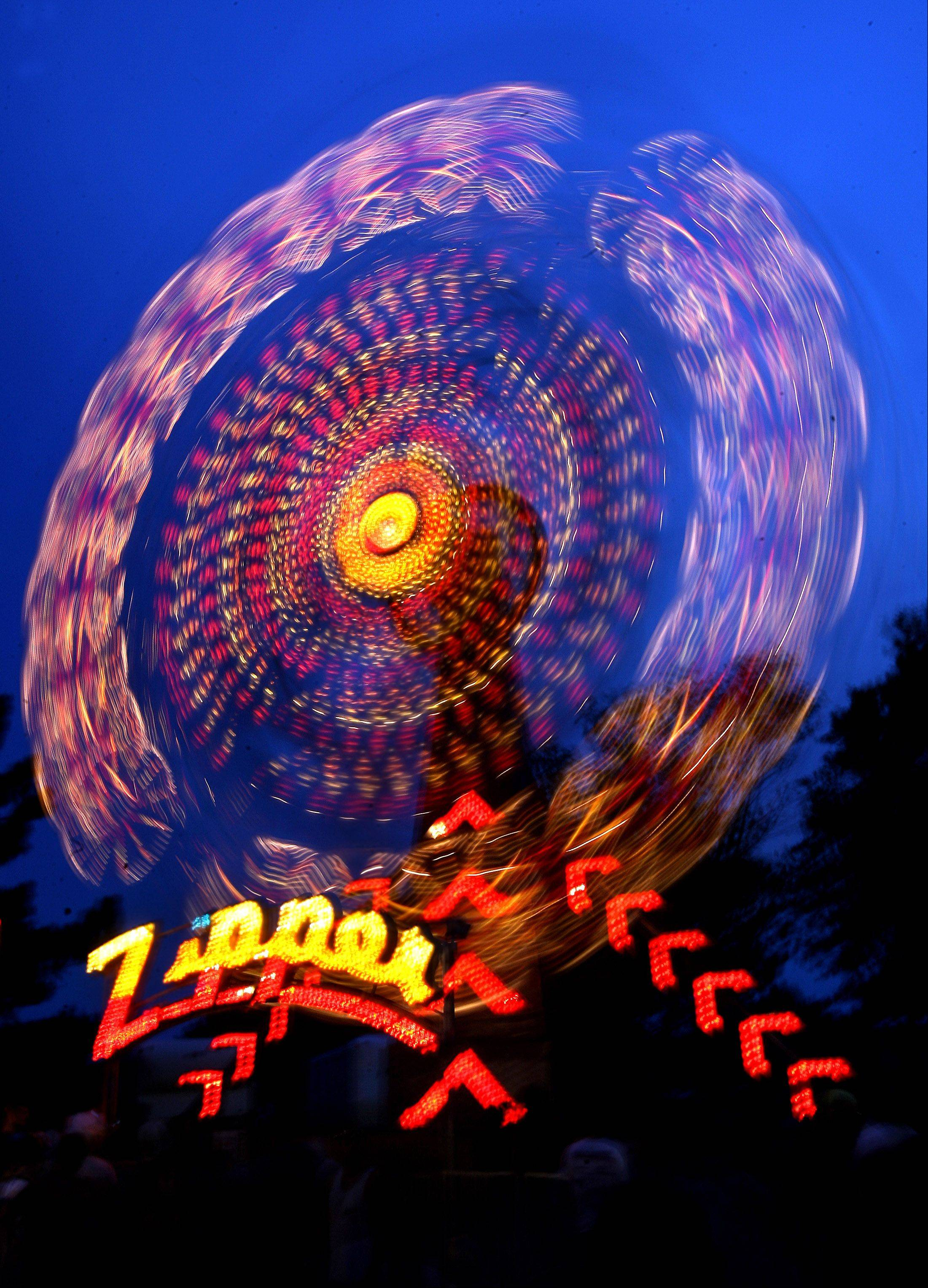 Carnival rides are a popular draw of Vernon Hills Summer Celebration.