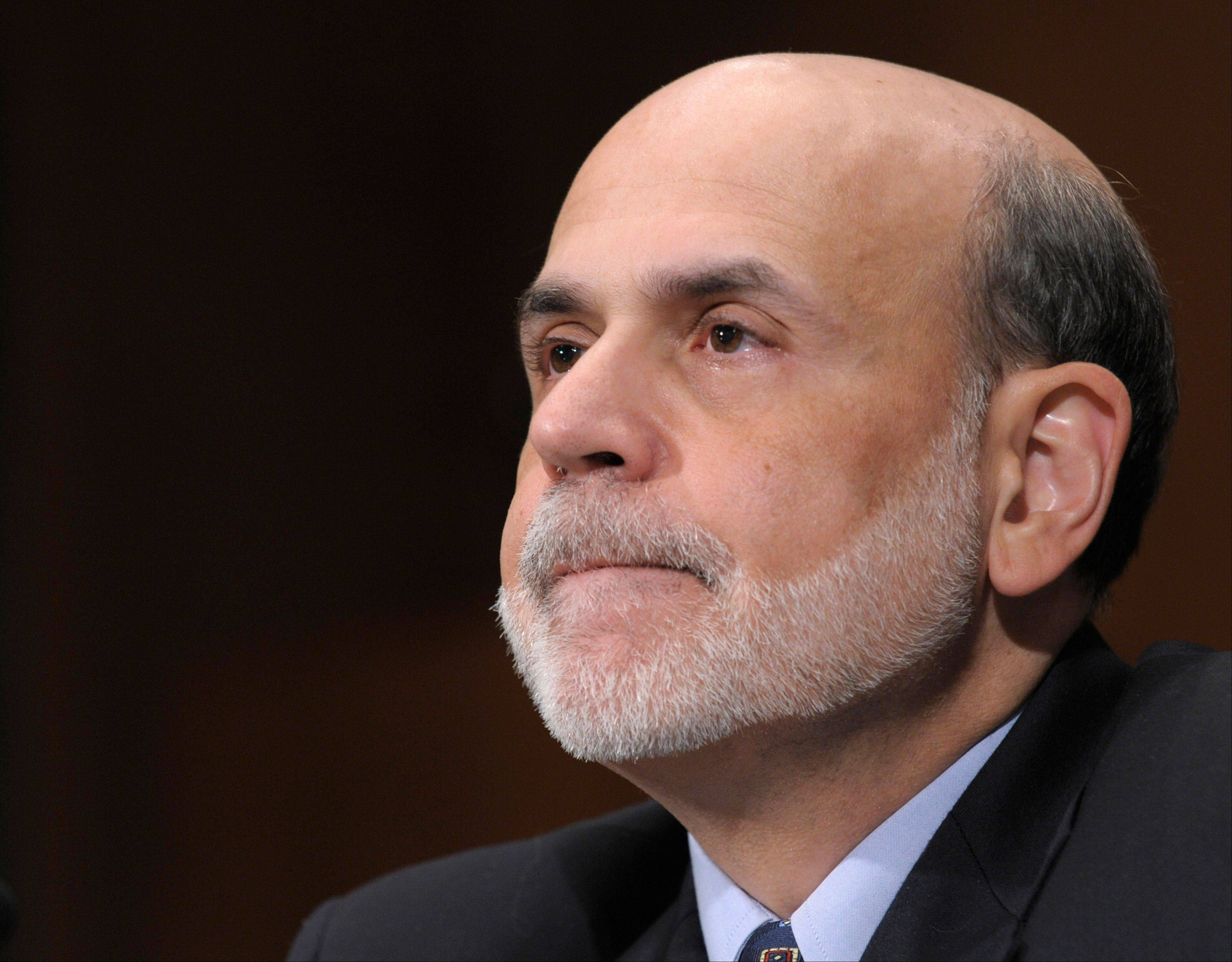 Federal Reserve Chairman Ben Bernanke testifies Thursday on Capitol Hill in Washington before the Senate Banking Committee hearing to deliver the semiannual Monetary Policy Report.