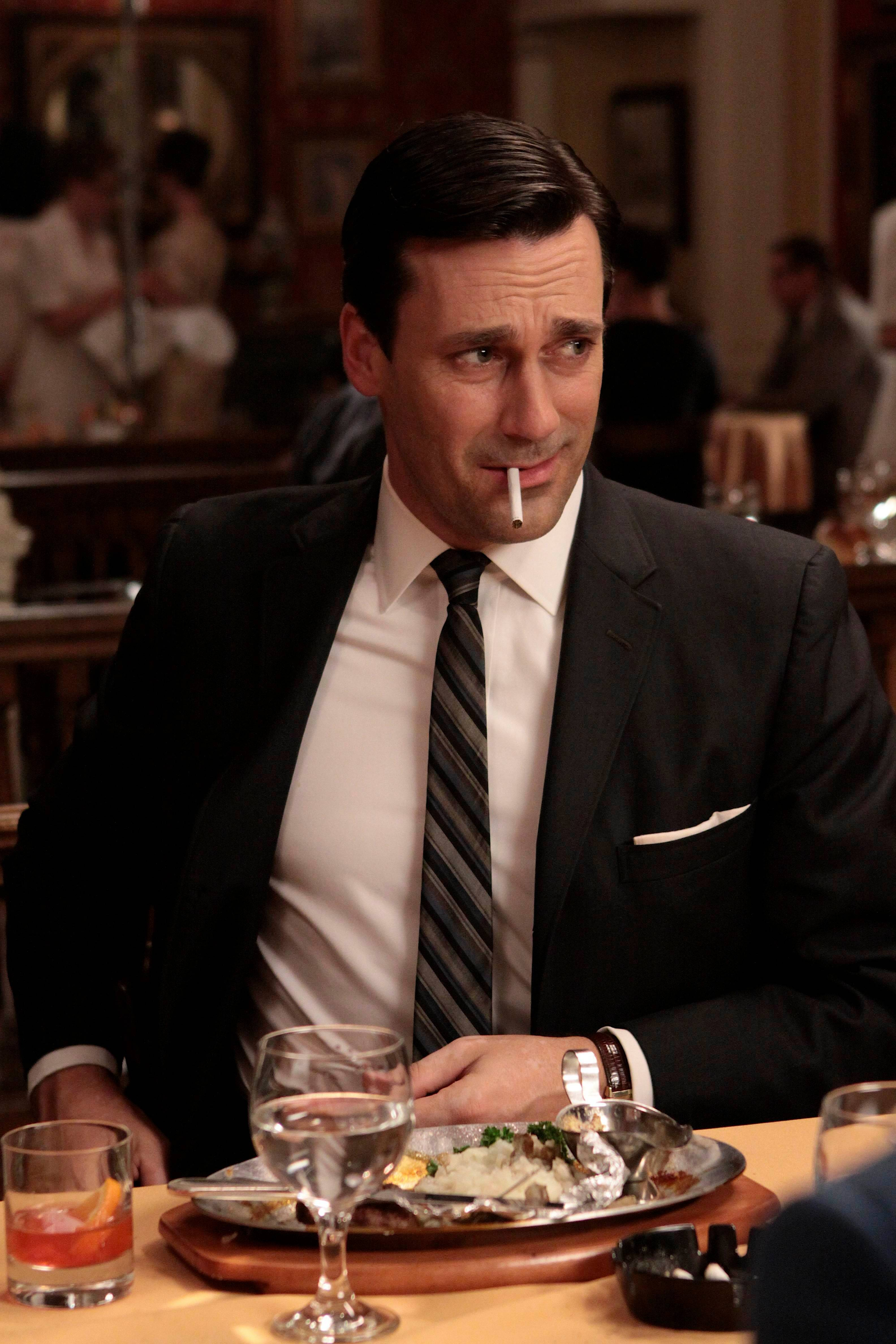 "Jon Hamm received his fourth lead acting bid for ""Mad Men,"" which received 19 Emmy nominations Thursday."