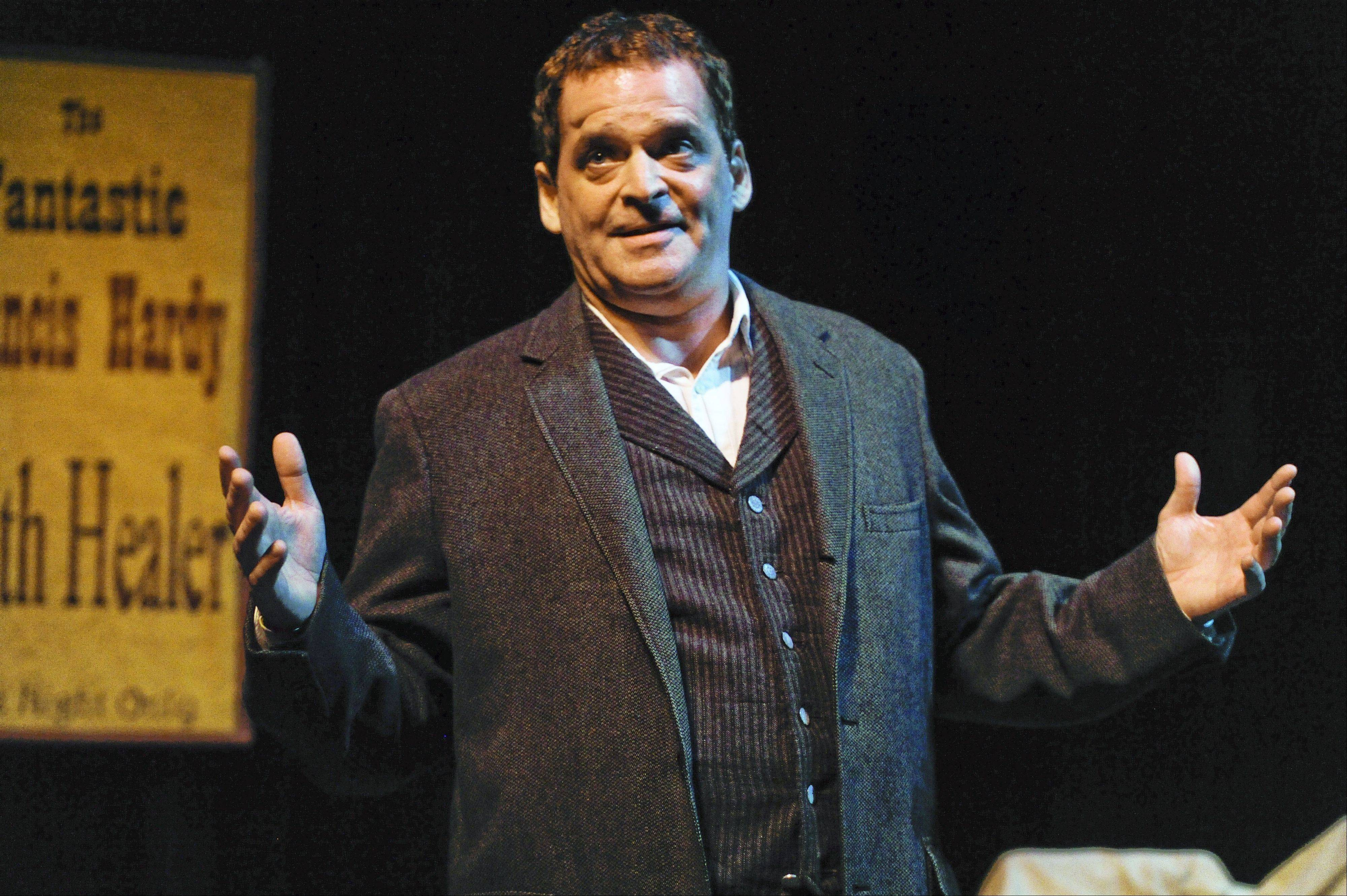 "Brian Burke plays Francis Hardy, the titular character in Brian Friel's masterful ""Faith Healer"" in a laudable revival from Buffalo Theatre Ensemble."