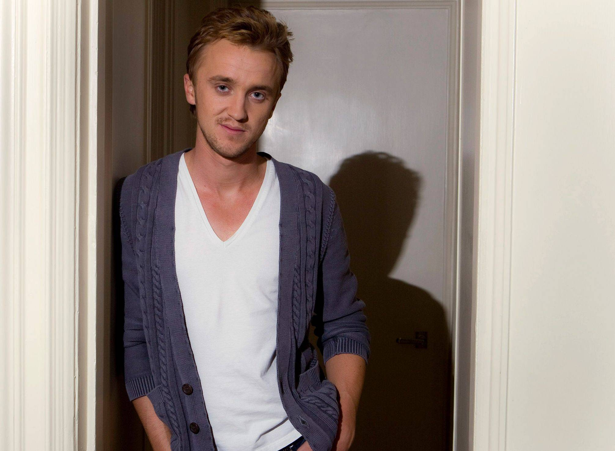Actor Tom Felton says he's nothing like his Potter character, nasty Draco Malfoy.