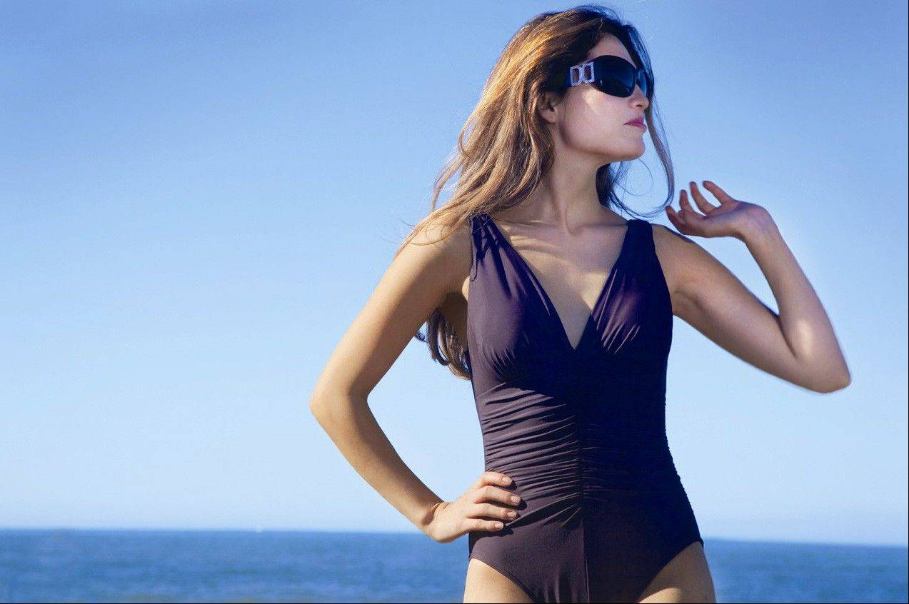 Buy the highest-quality swimsuit you can afford. The better material will mean the suit will last longer.