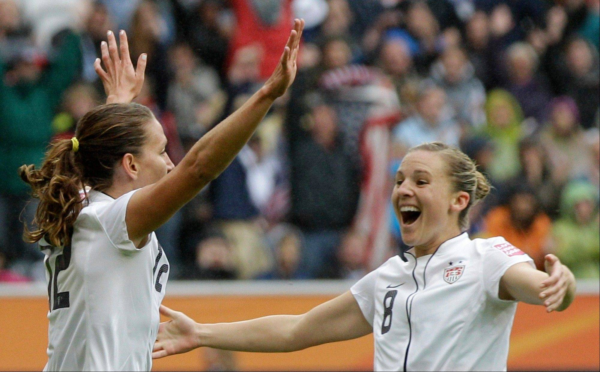 Thank you, U.S. Women's soccer team, for breaking up a really boring summer of sports with your semi-final win in the Women's Soccer World Cup in Germany.