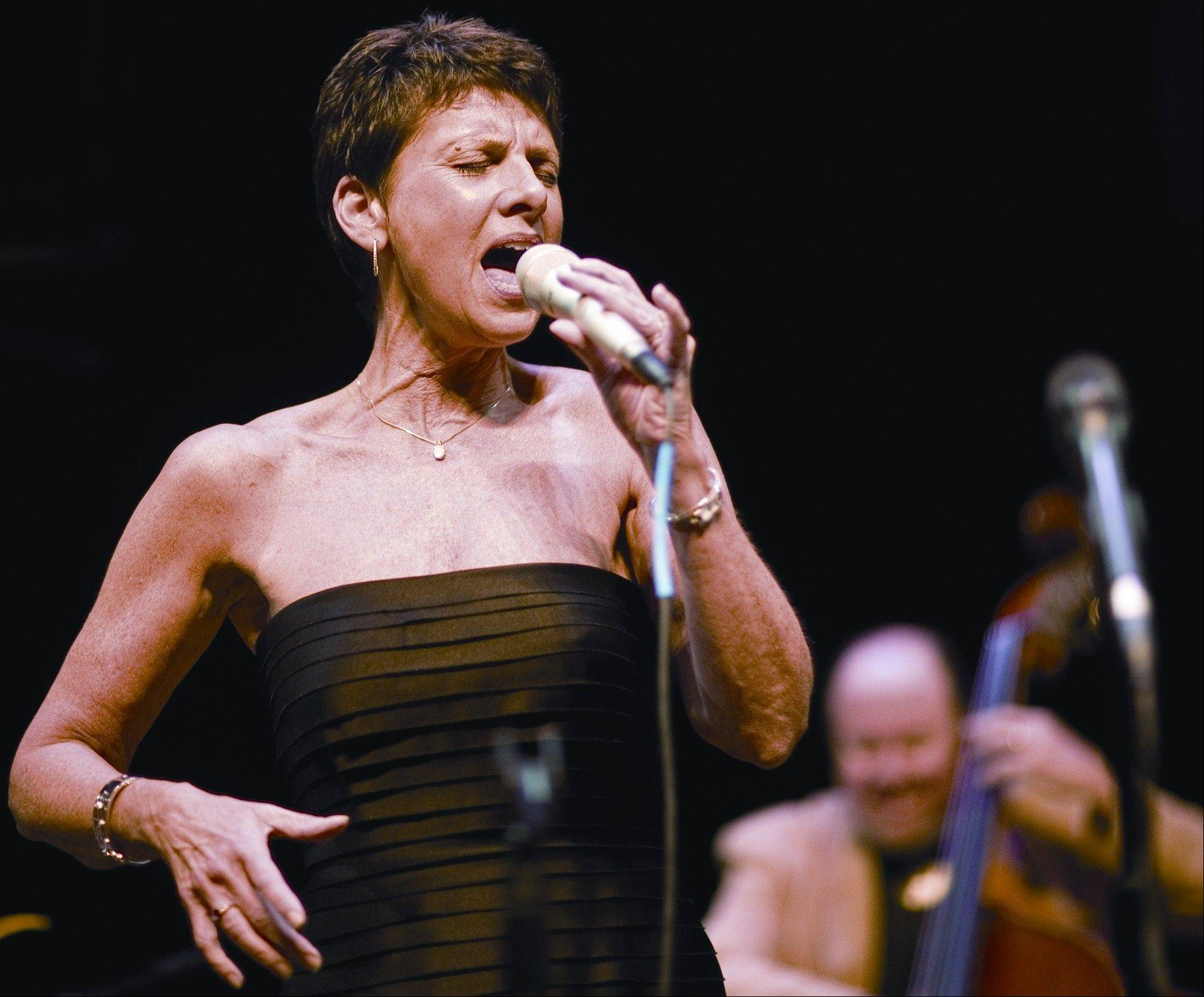 Jazz singer Janice Borla is one of the headlining acts of the Hot Jazz — 6 Cool Nites series at North Central College's Meiley-Swallow Hall.